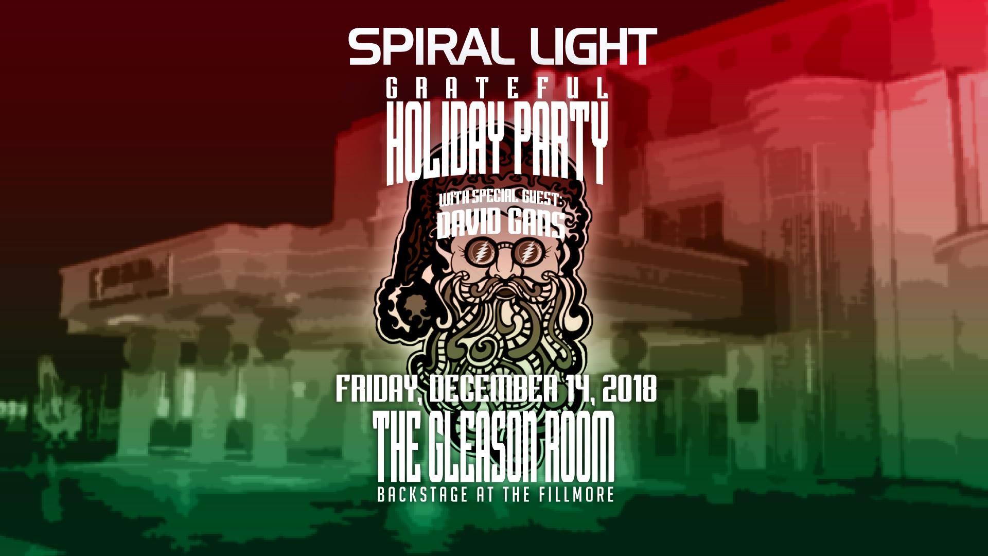 Spiral Light w/ David Gans | Fillmore Miami Beach | 12/14/18