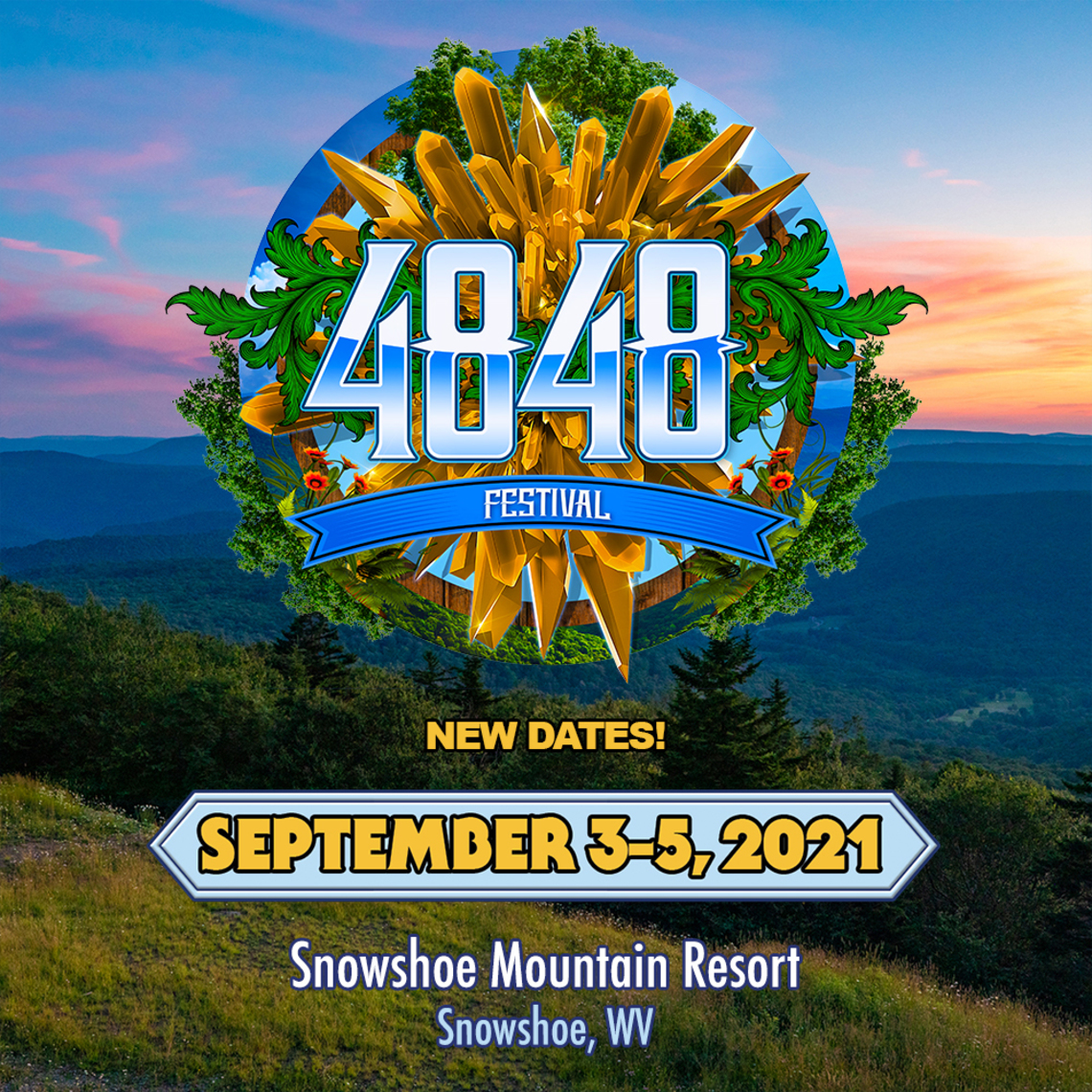 4848 Festival Announces New Dates for September 3-5