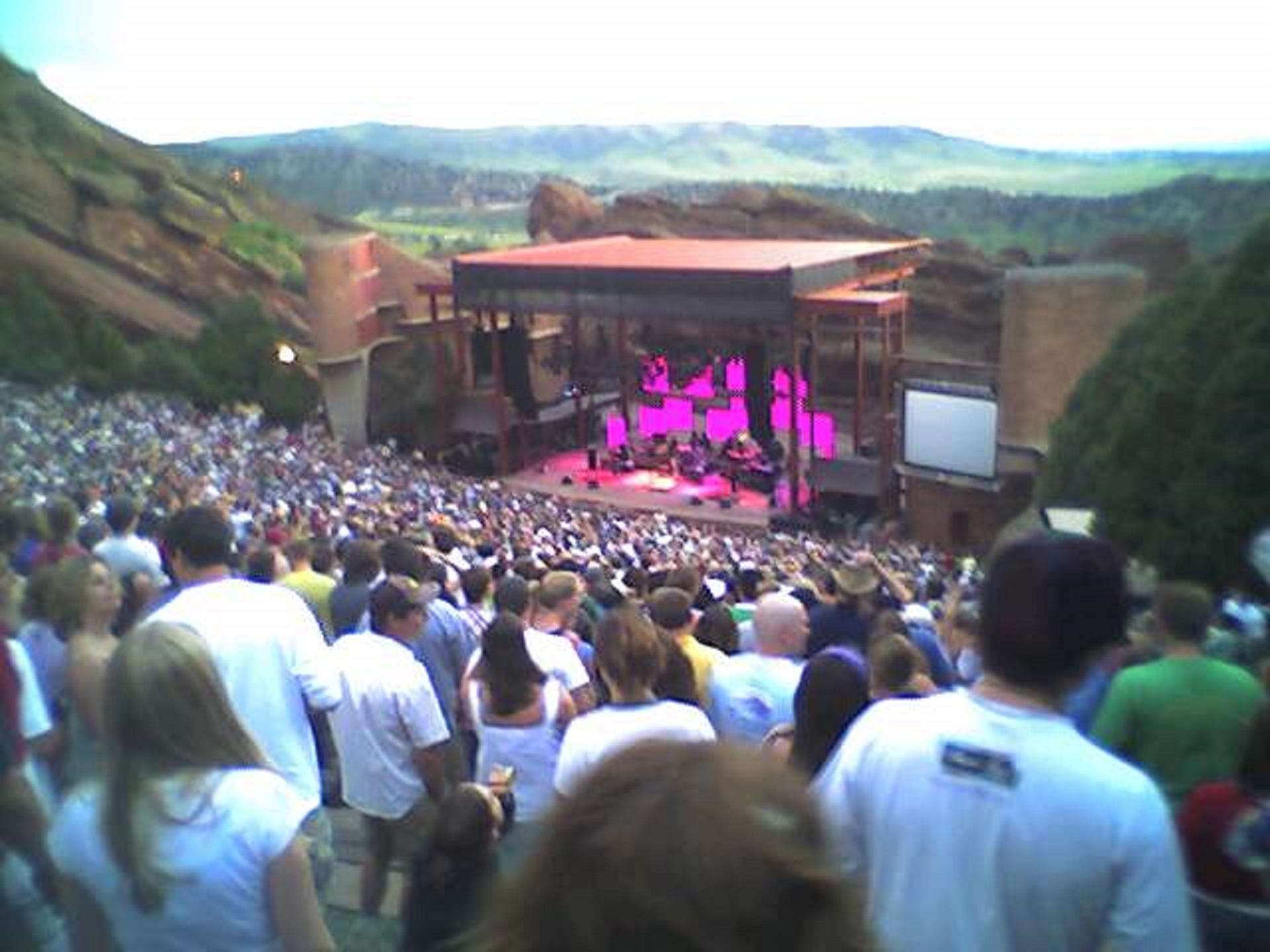 Don't Panic - 06/24/05 | Red Rocks