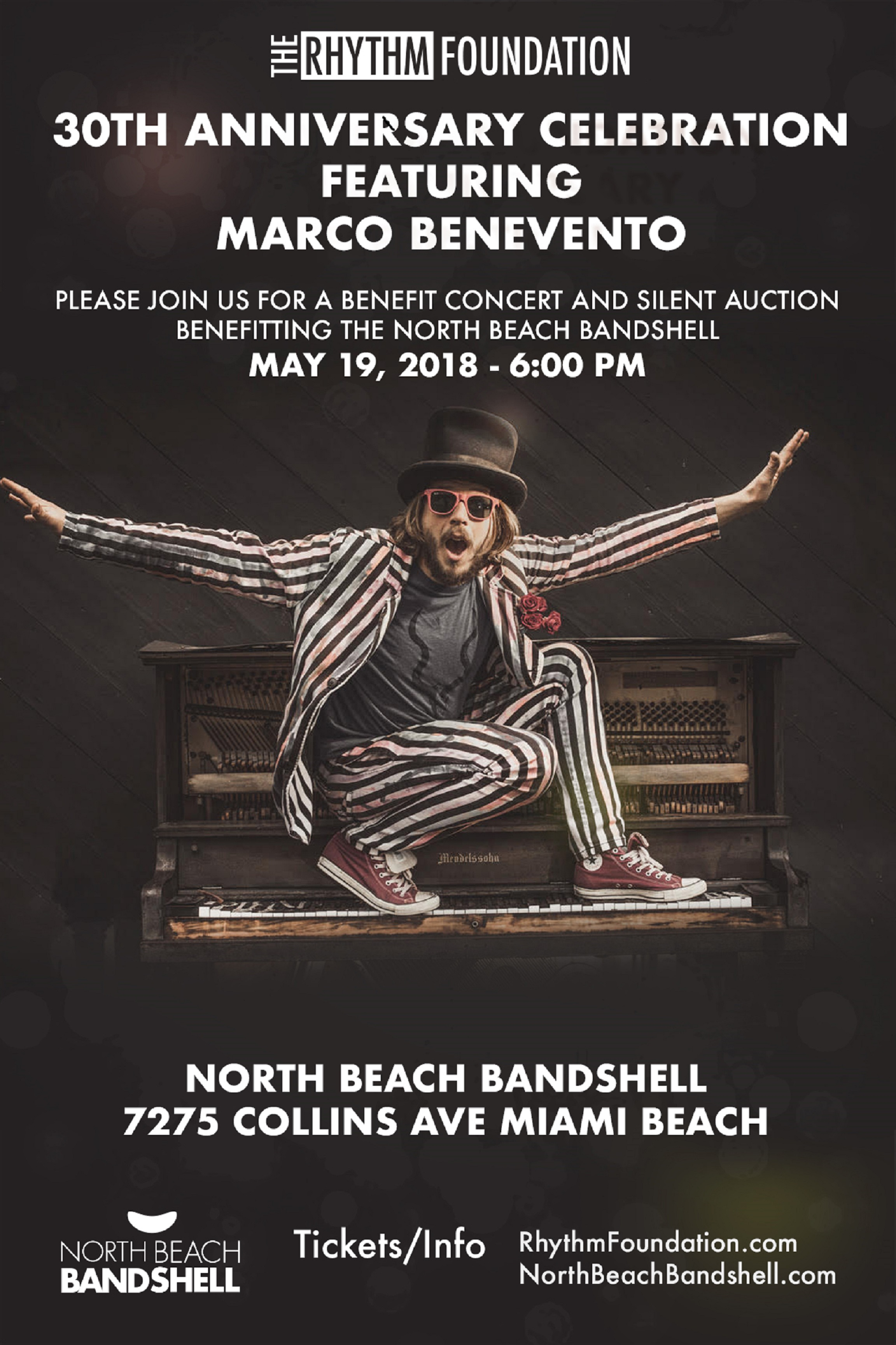 Rhythm Foundation 30th Anniversary with Marco Benevento