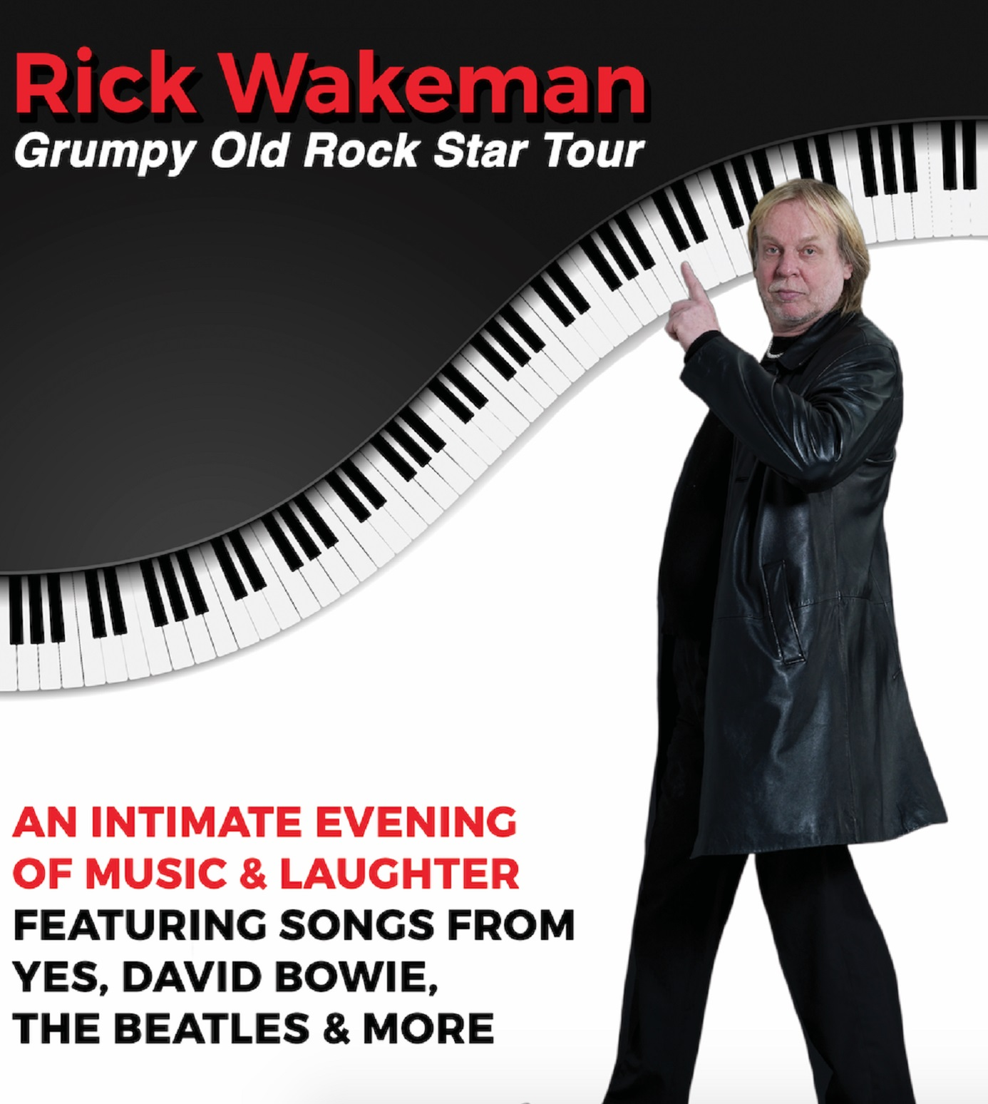 Rick Wakeman Embarks on First Solo U.S. Tour in 13 Years