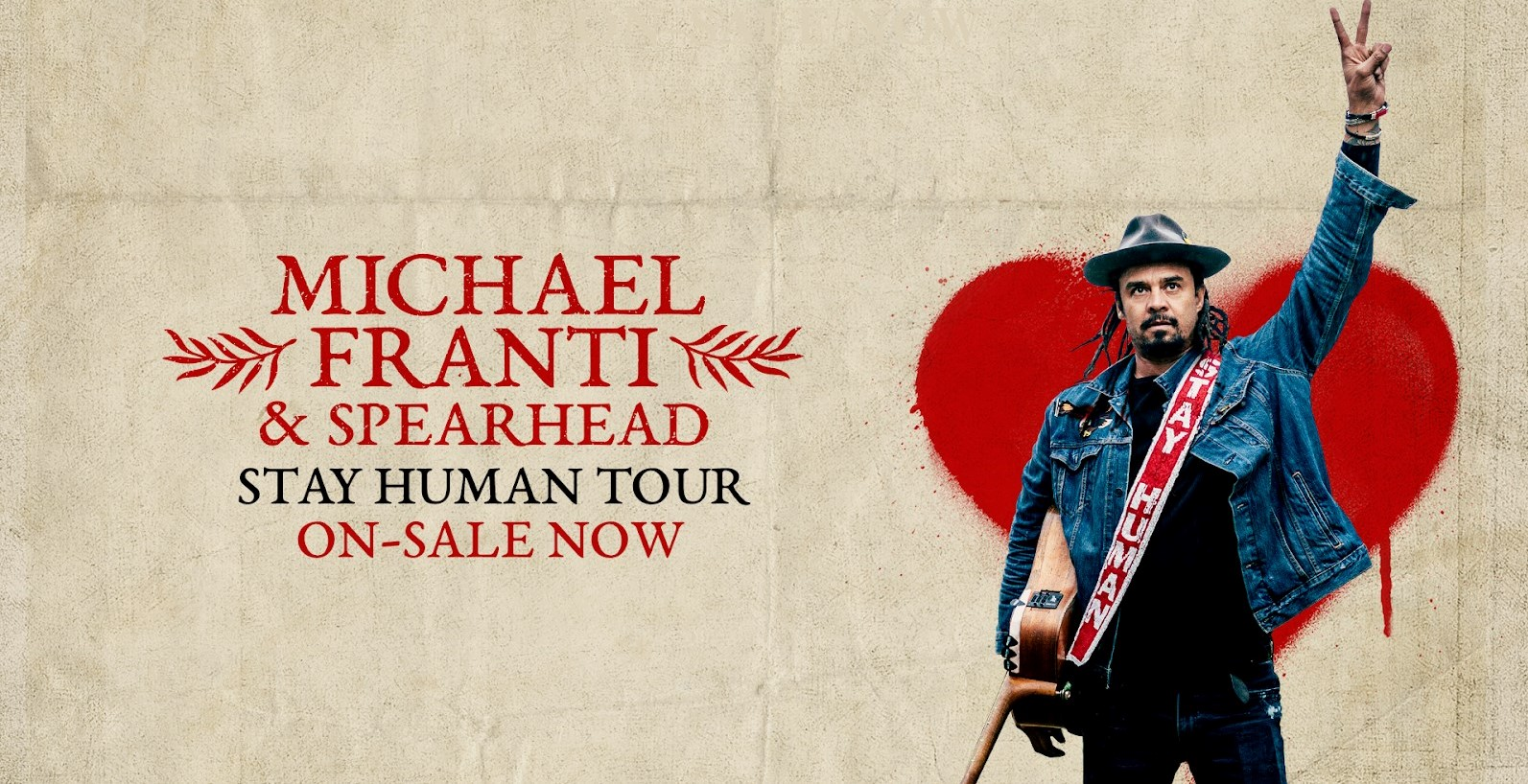 "Michael Franti adds fall tour dates in support of new record, ""Stay Human Vol. II"""