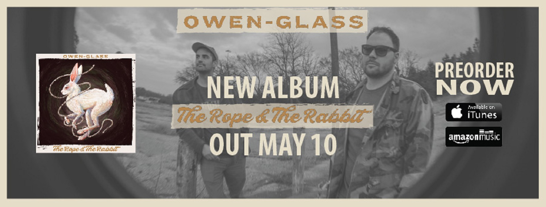 Owen-Glass just released 'The Rope & The Rabbit'