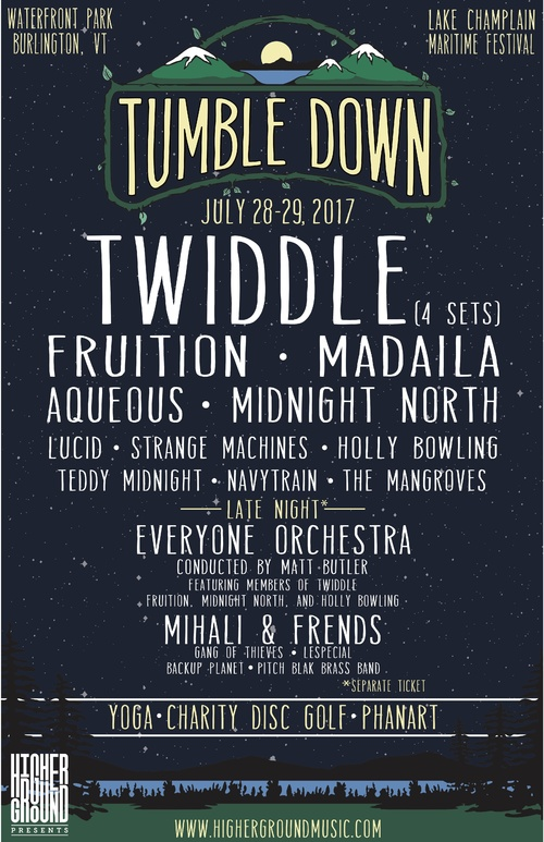 Twiddle Announces Tumble Down Lineup