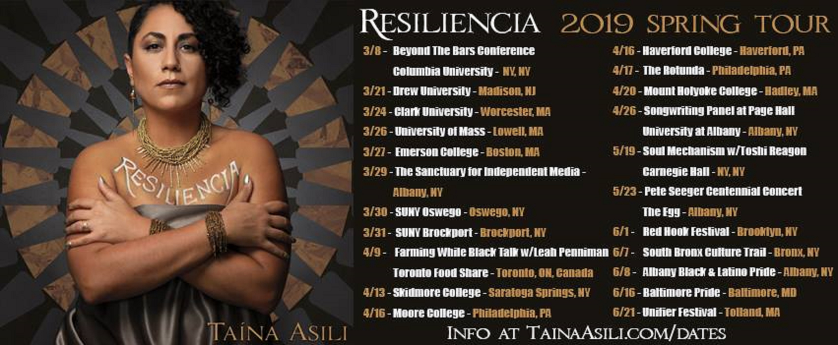 Songs of Resilience: Taína Asili at the intersection of the personal and the political