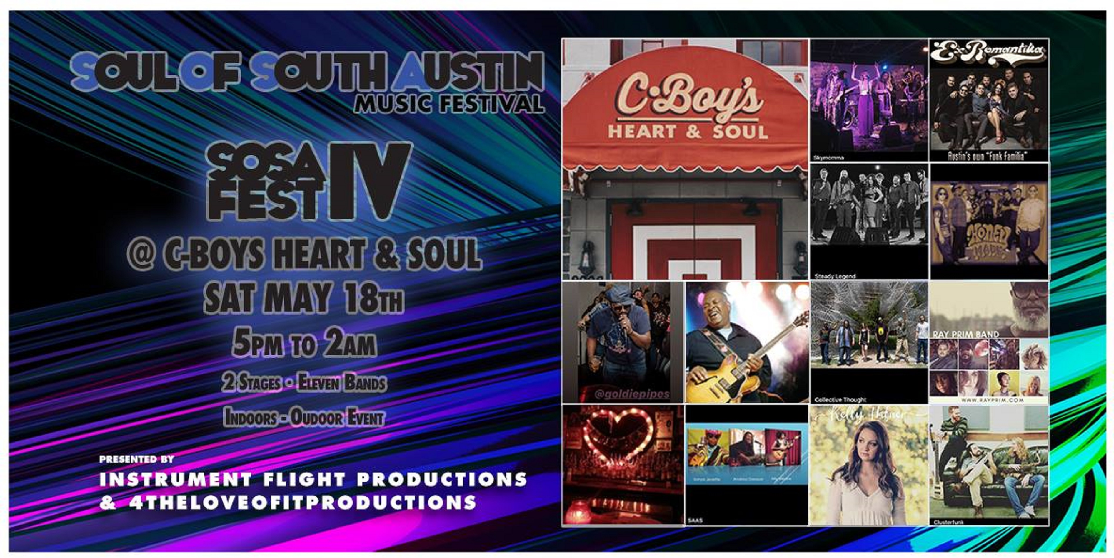 Soul of South Austin Festival IV Announces 2019 Lineup