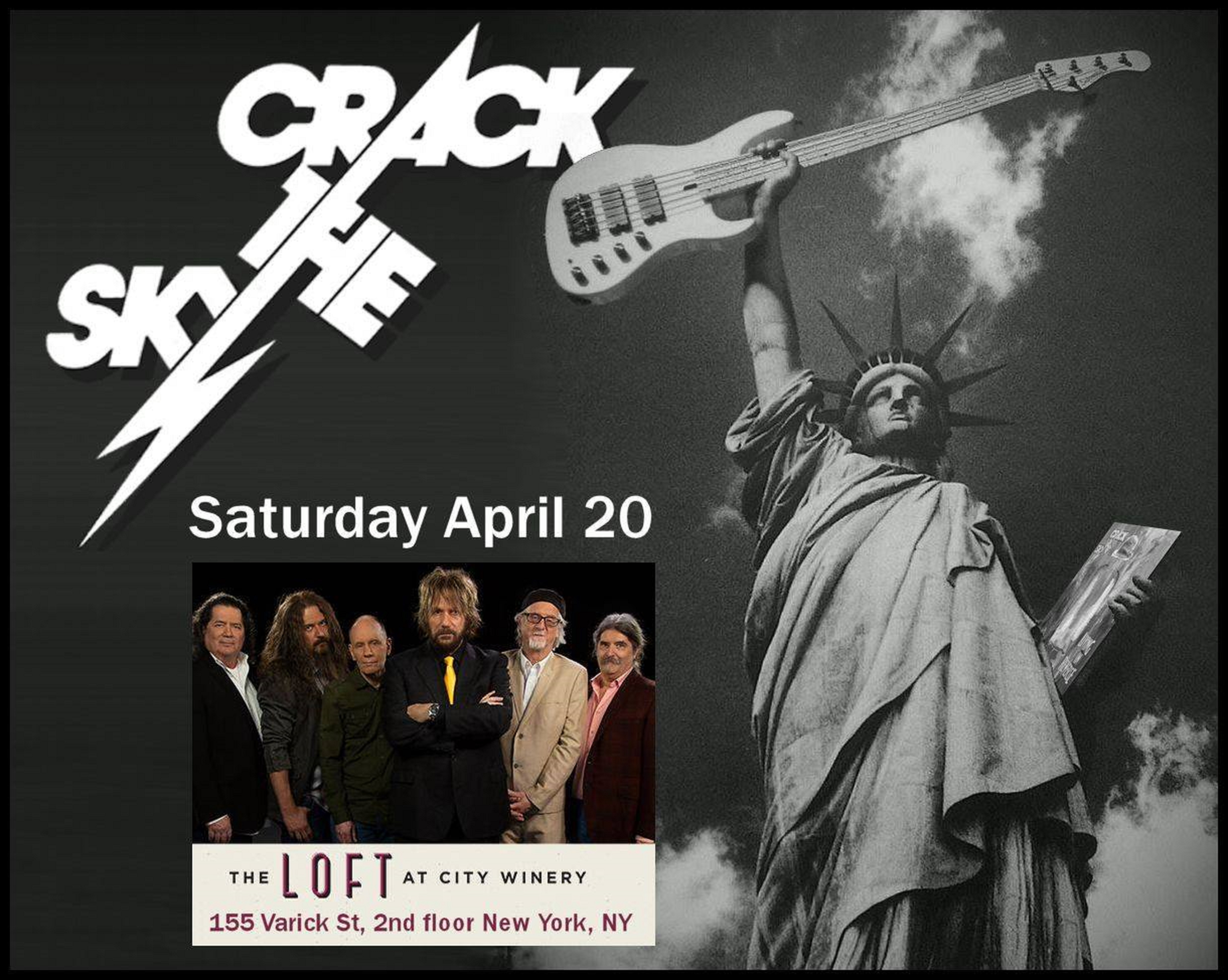 Crack The Sky to Play NYC on 4/20