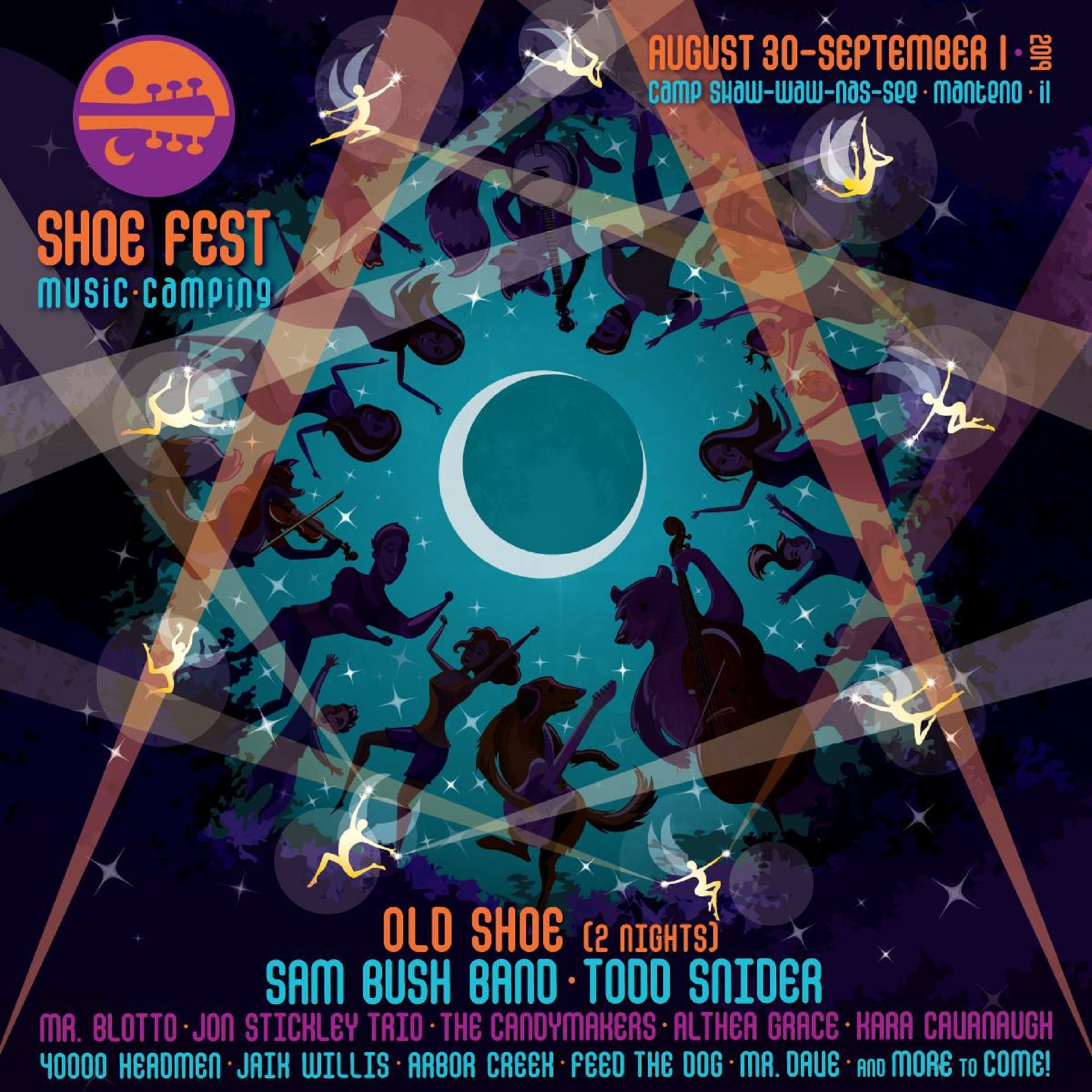 Shoe Fest announces first round lineup with Sam Bush and Todd Snider