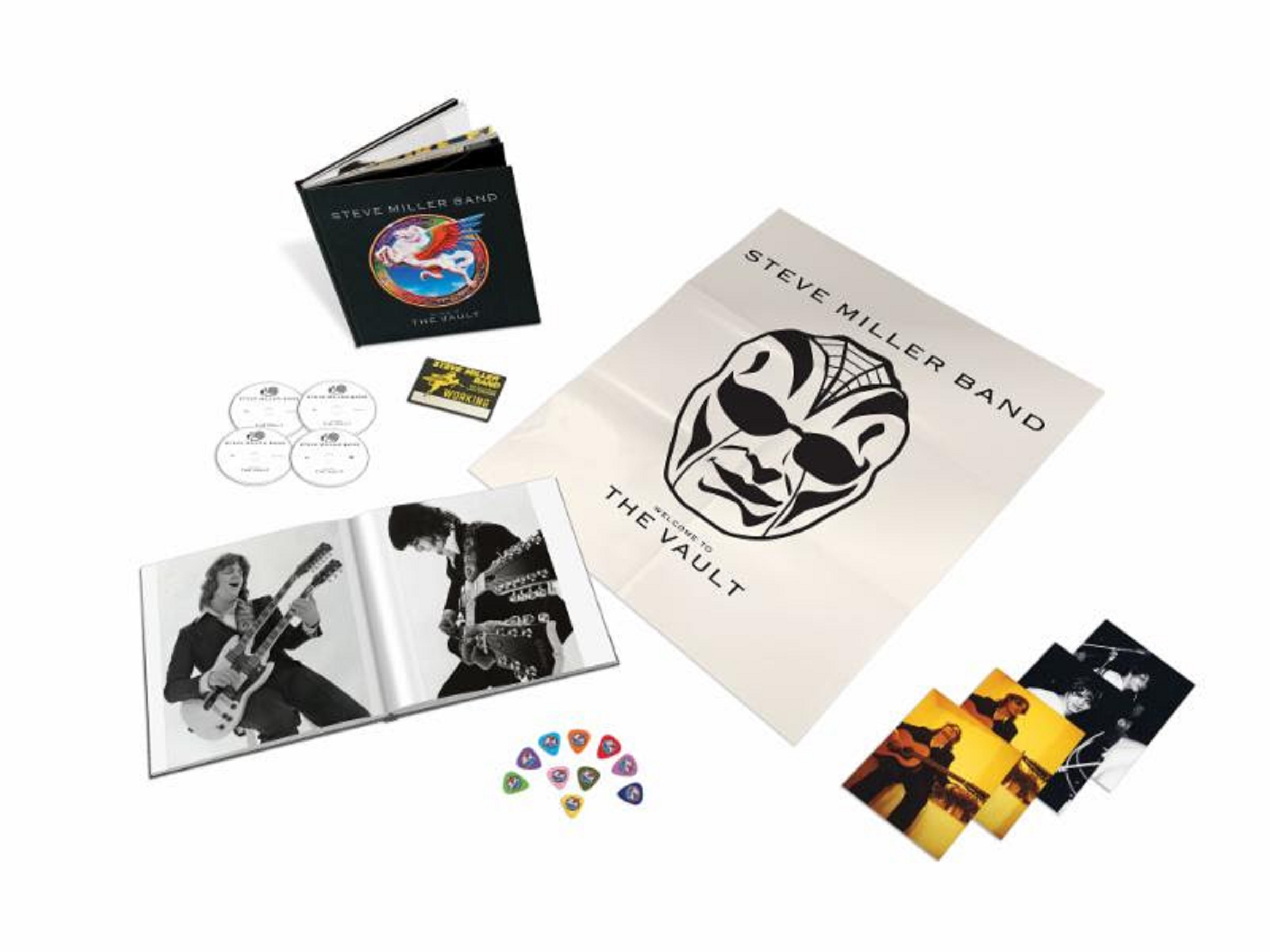 "Steve Miller to release 3 CD/DVD rarities box - ""Welcome to the Vault"""