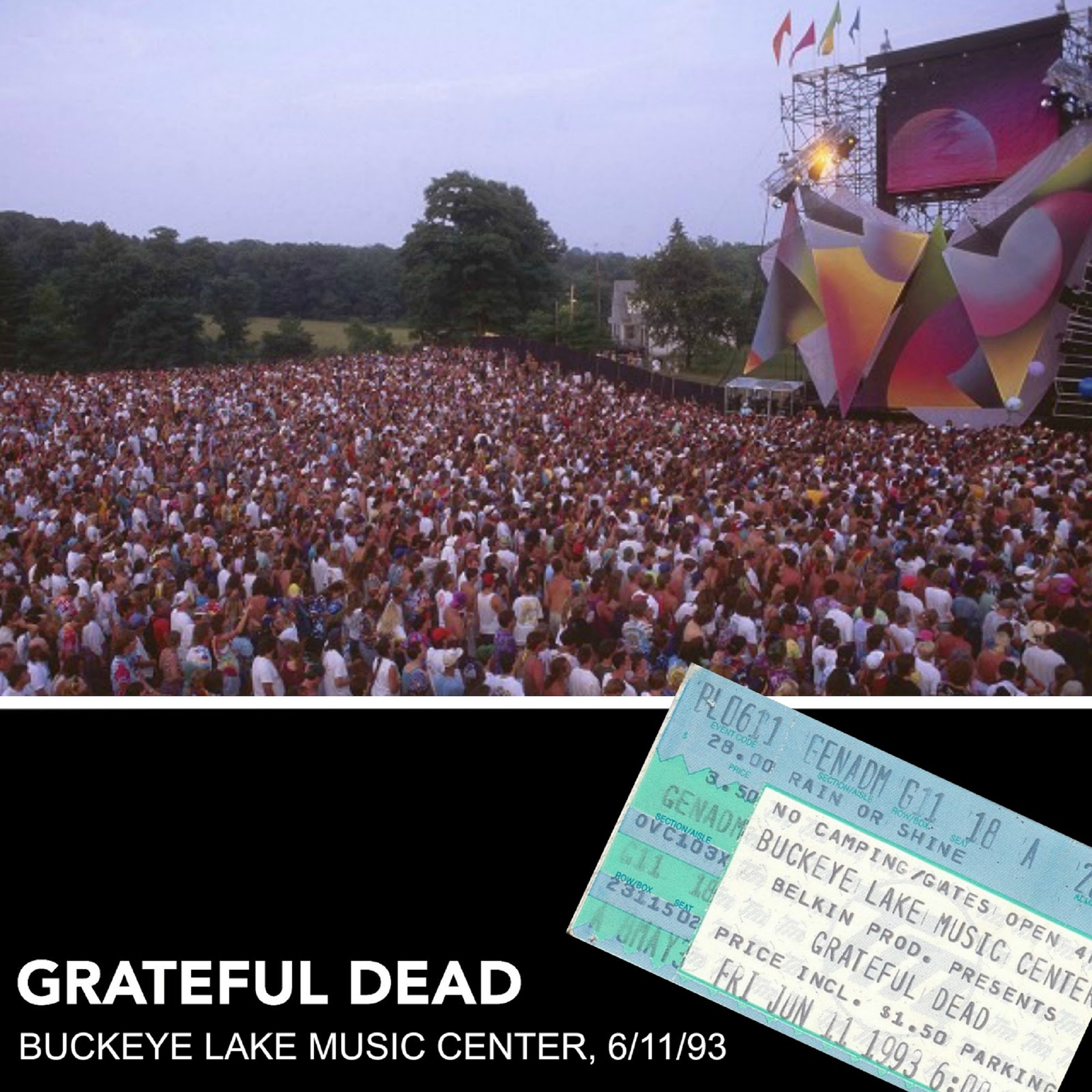 Dark Star Orchestra to Recreate Epic Grateful Dead '93 Buckeye Lake Show