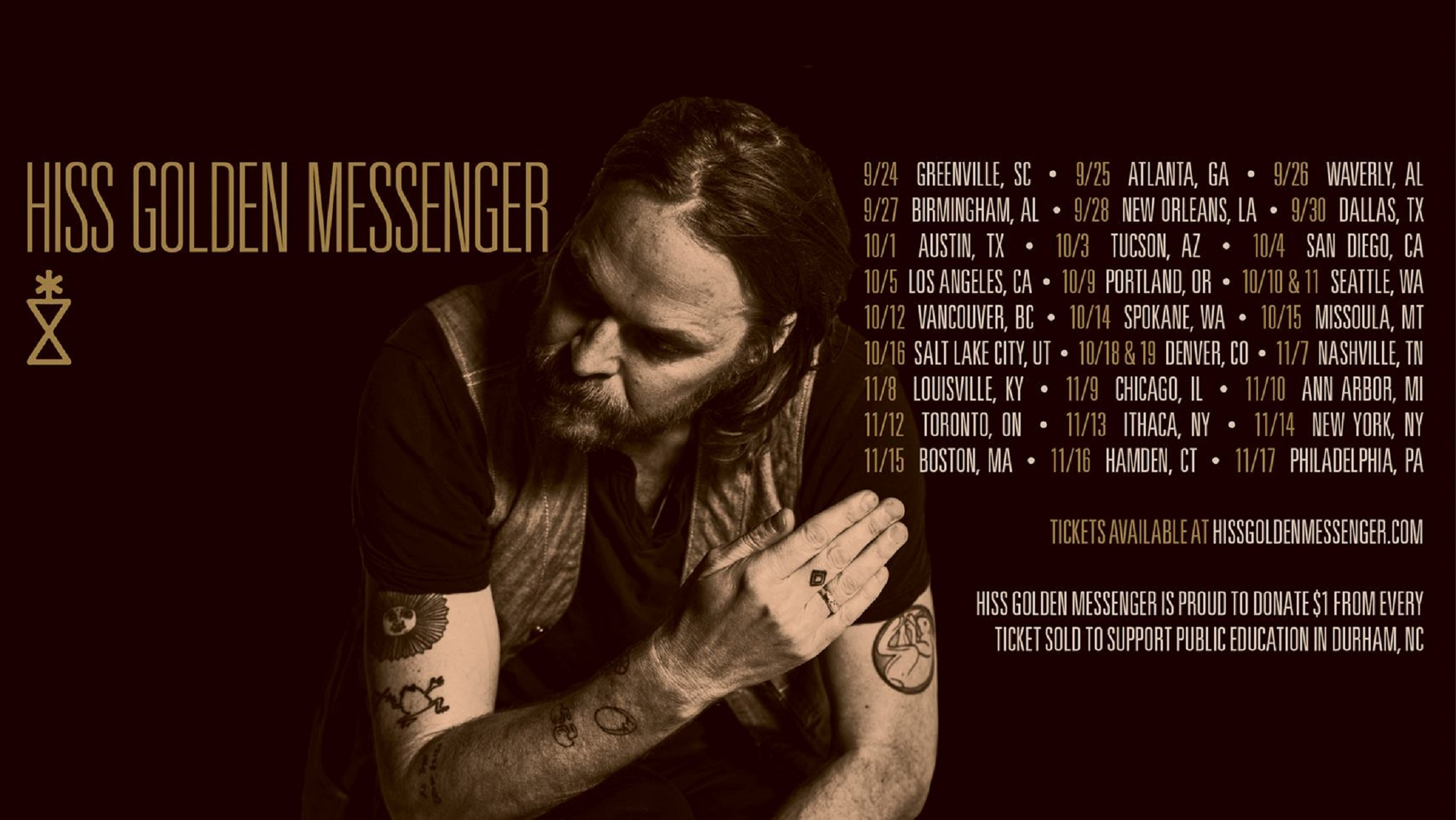 Hiss Golden Messenger Announces Big Fall Tour