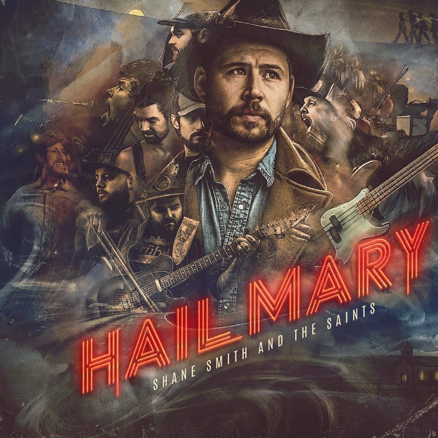Shane Smith & The Saints New Album, Hail Mary, Out Now
