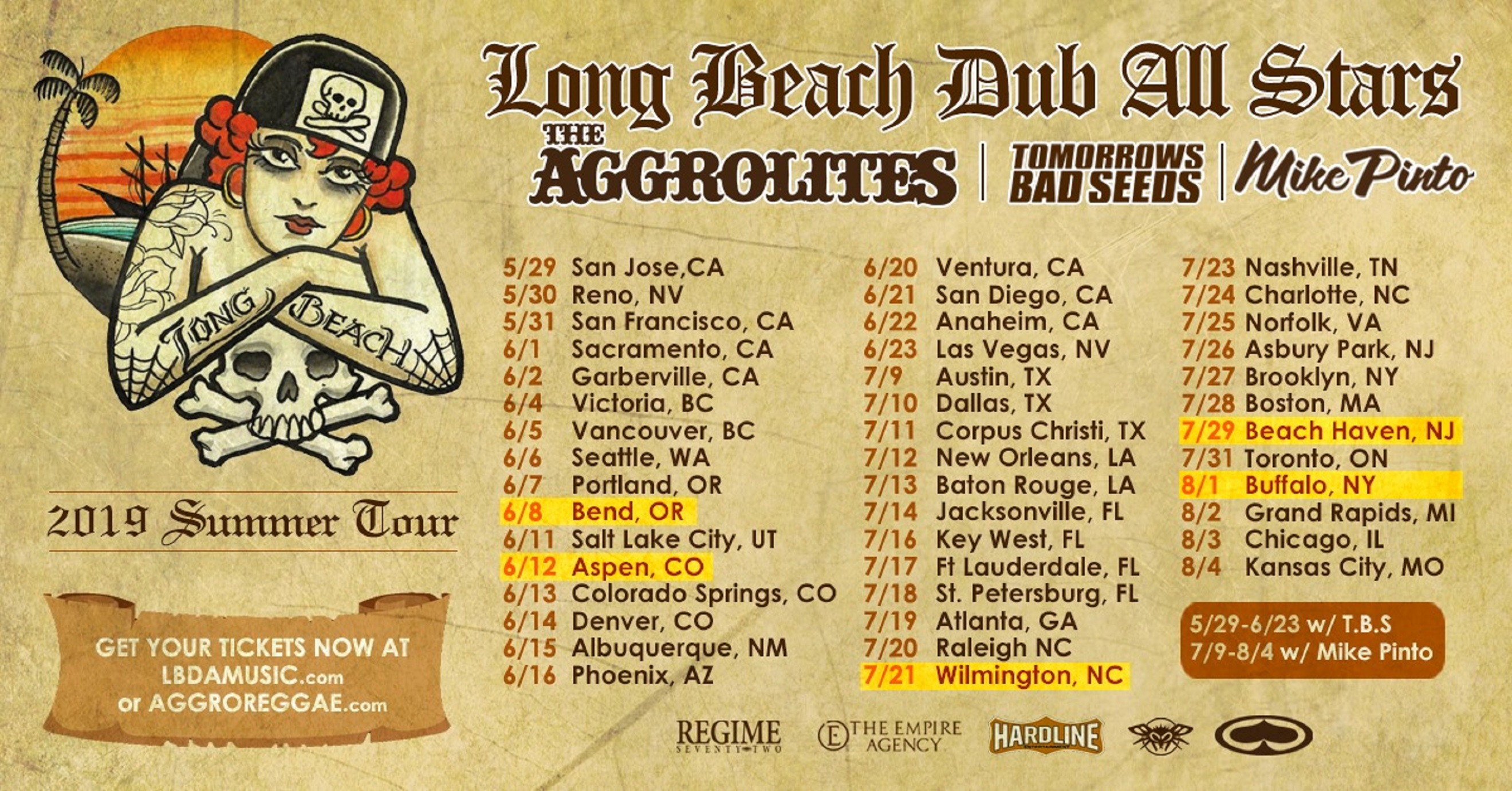 Long Beach Dub Allstars Embark on Tour!