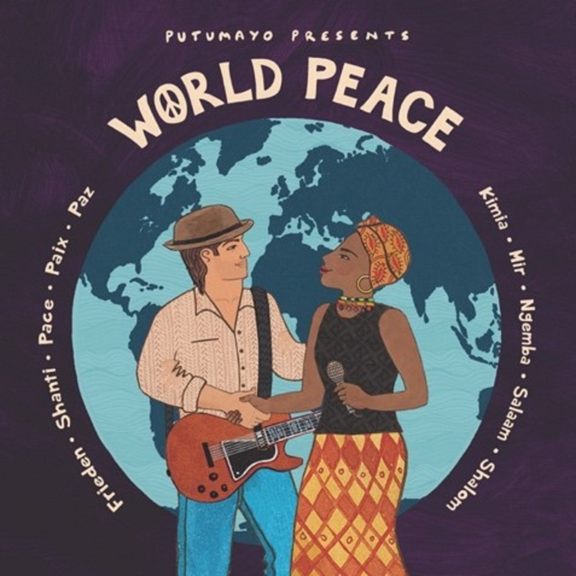 Putumayo releases World Peace w/Jackson Browne & more