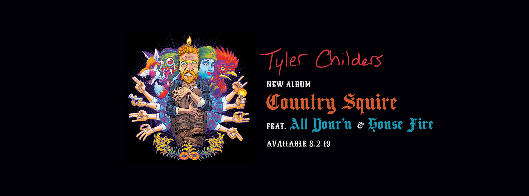 "Tyler Childers' ""All Your'n"" premieres today"