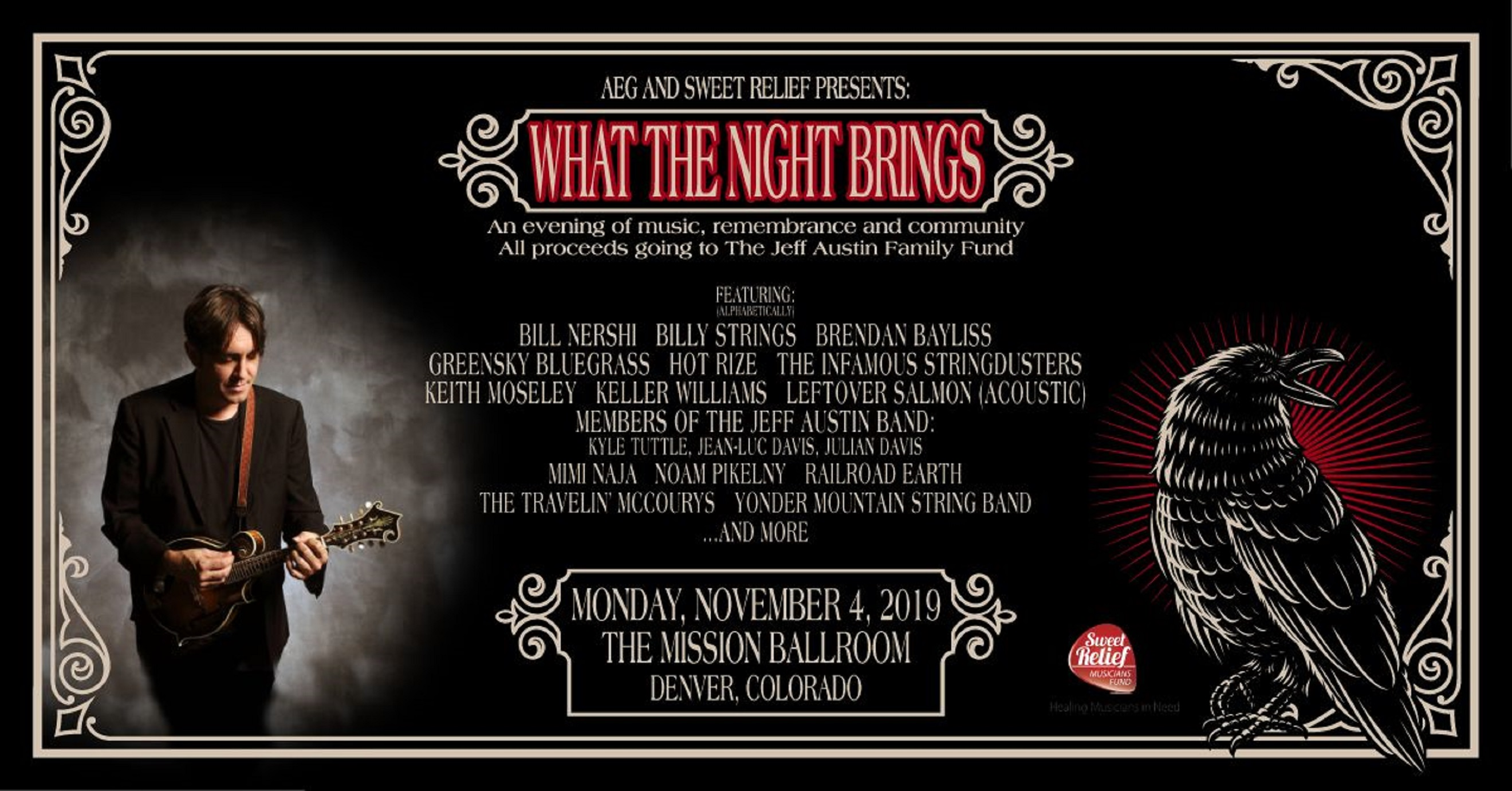 What The Night Brings An evening of Music, Remembrance and Community