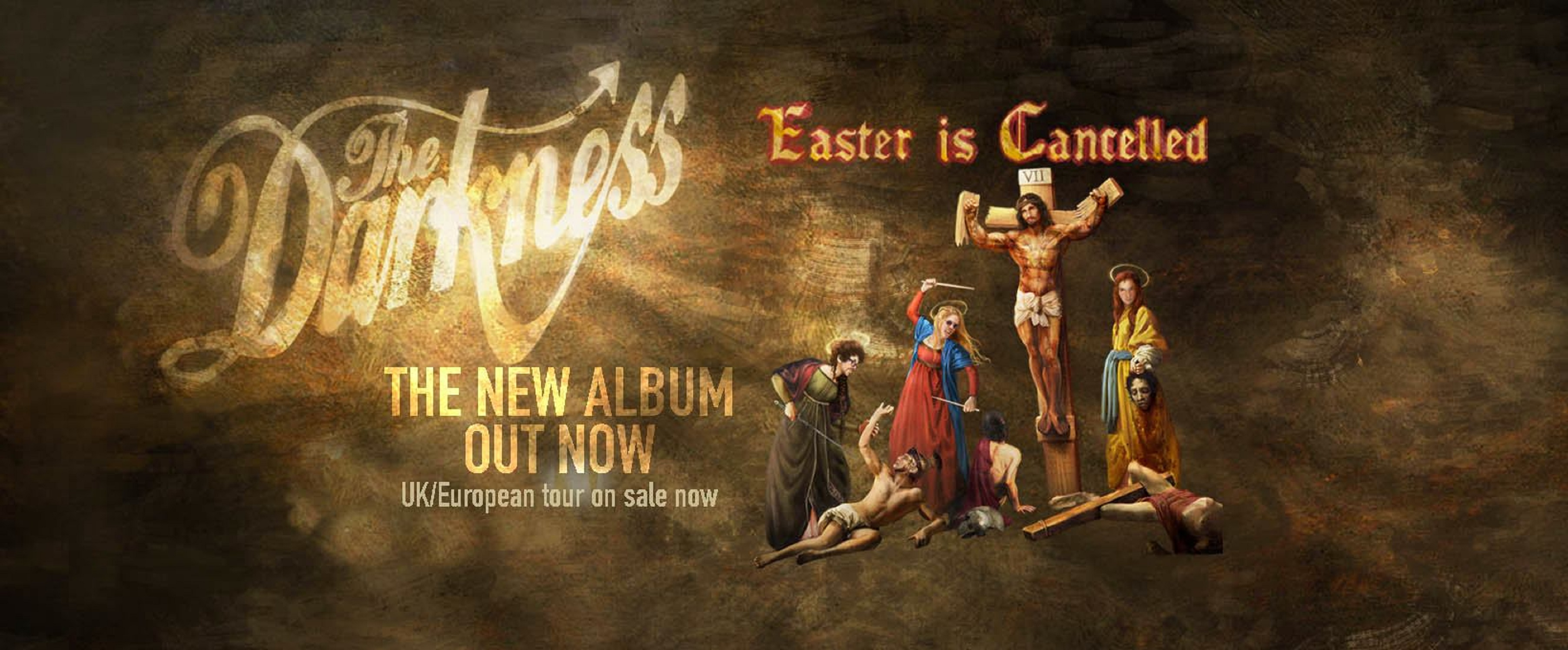 THE DARKNESS Kicks Off North American Leg of Easter Is Cancelled Tour on April 13th