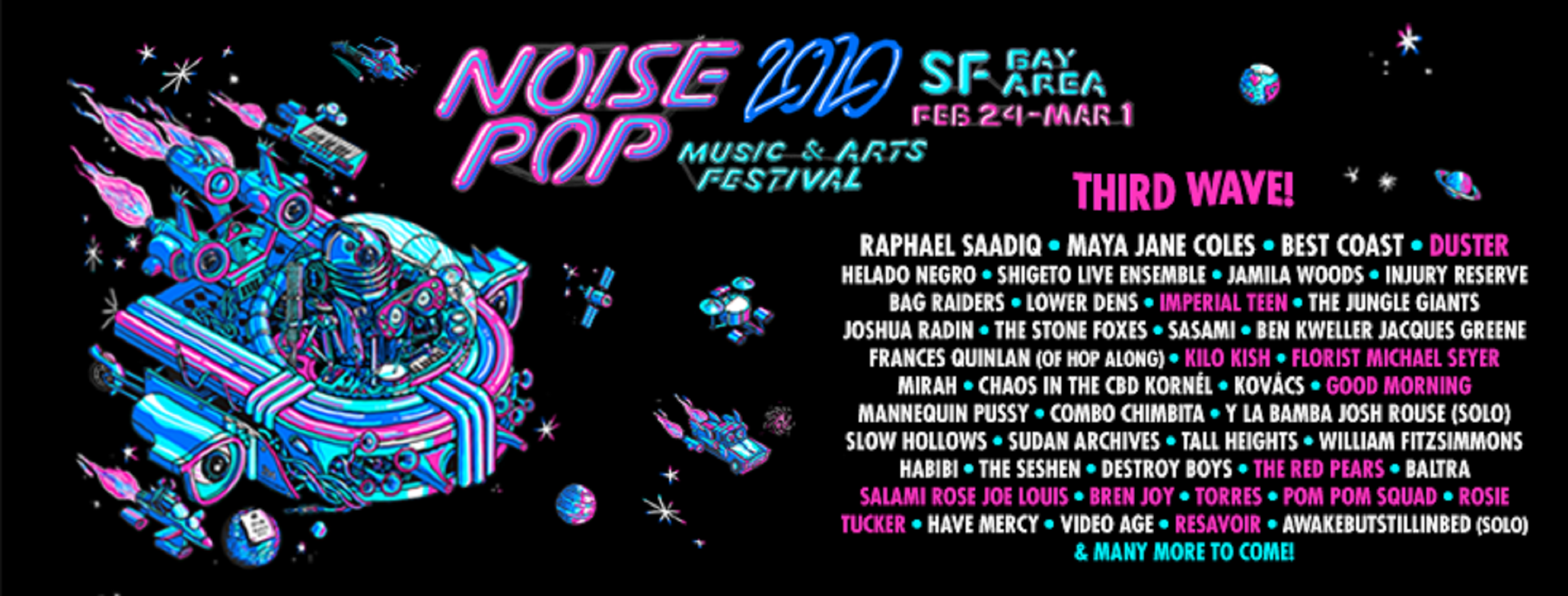 Noise Pop Announces Phase 3 of 2020 Lineup
