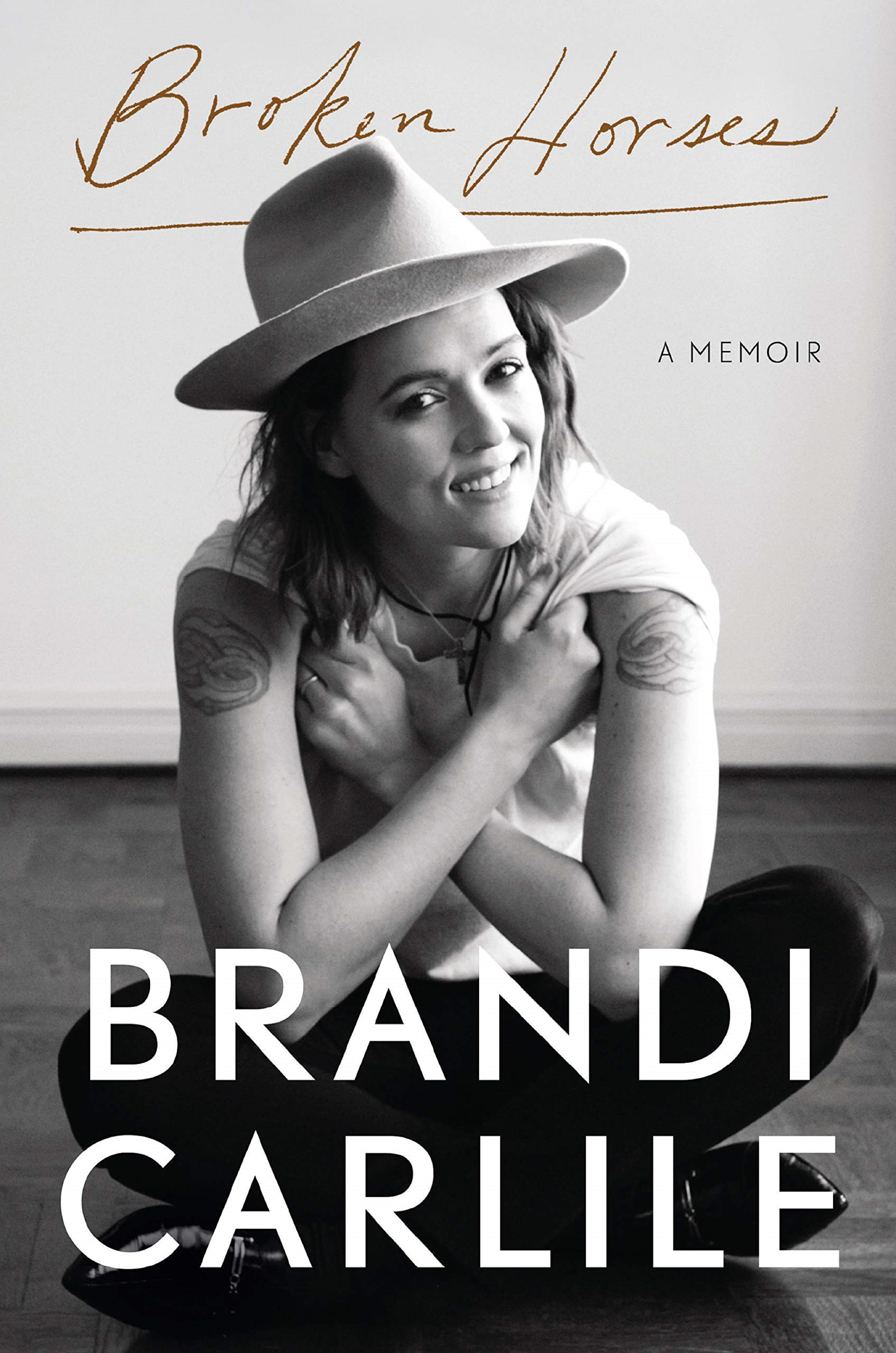 "Brandi Carlile's ""Broken Horses"" debuts at #1 on The New York Times Best Sellers list"