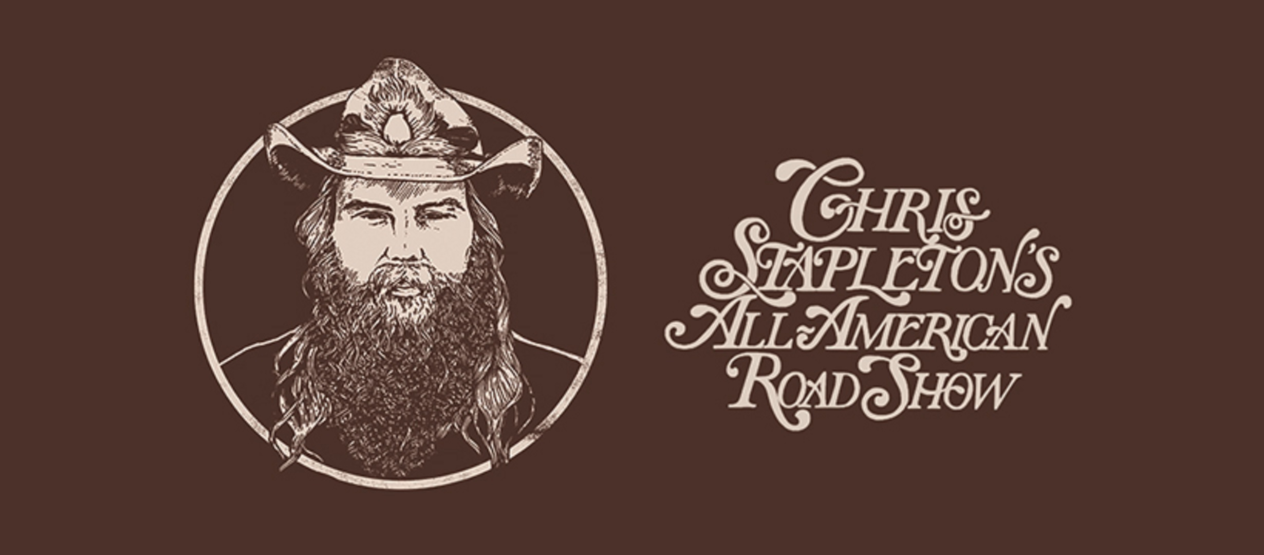 "Chris Stapleton confirms extensive 2020 ""All-American Road Show"" headline tour"
