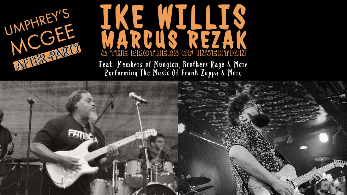 IKE WILLIS, MARCUS REZAK and THE BROTHERS OF INVENTION EMBARK ON PACIFIC NORTHWEST TOUR