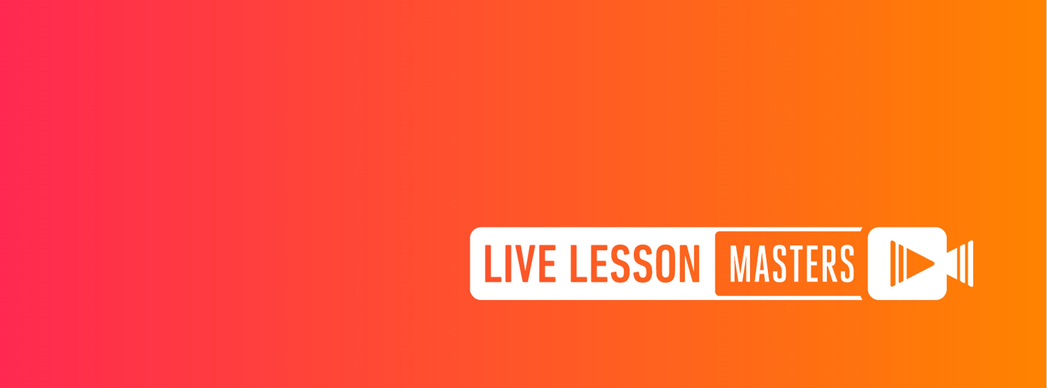Live Lesson Masters Online Platform Debuts Today
