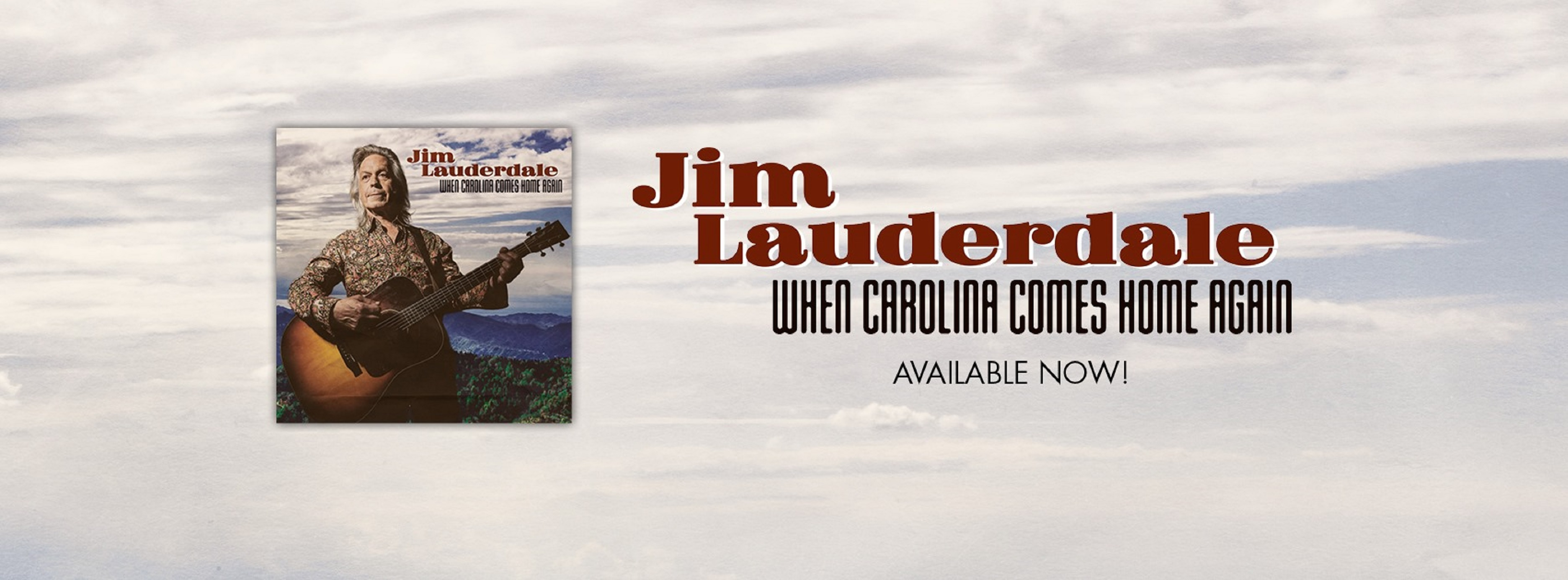 Jim Lauderdale's 'When Carolina Comes Home Again' Out Now