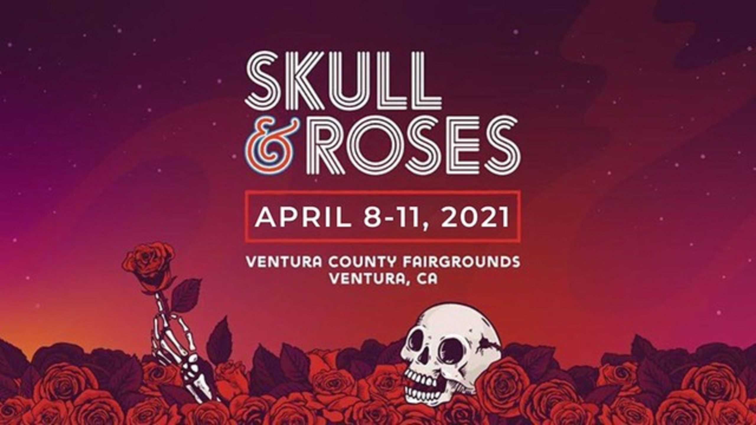 Skull & Roses Festival Rescheduled & Virtual Party This Weekend