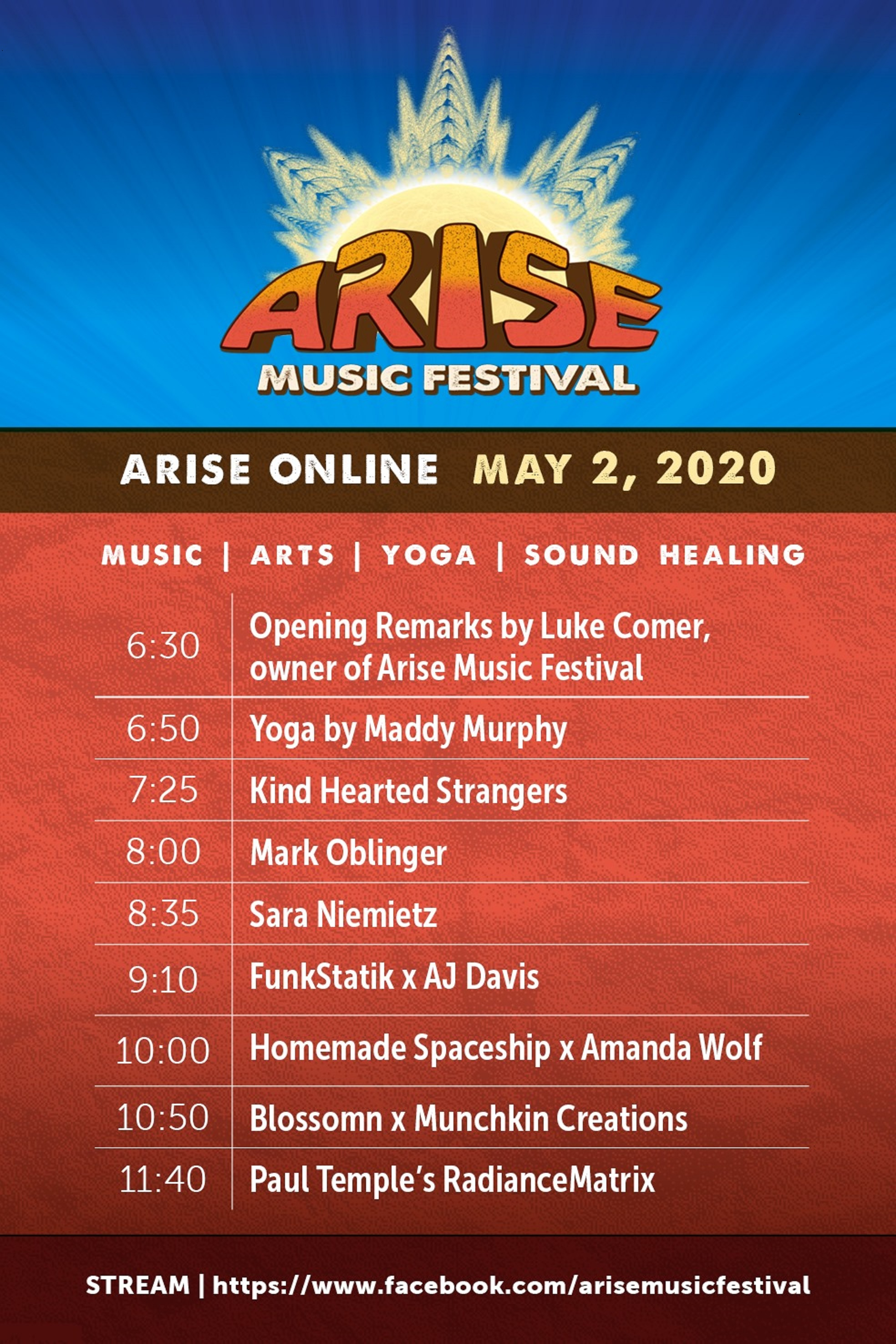 Announcing the first-ever ARISE Online Gathering on May 2!