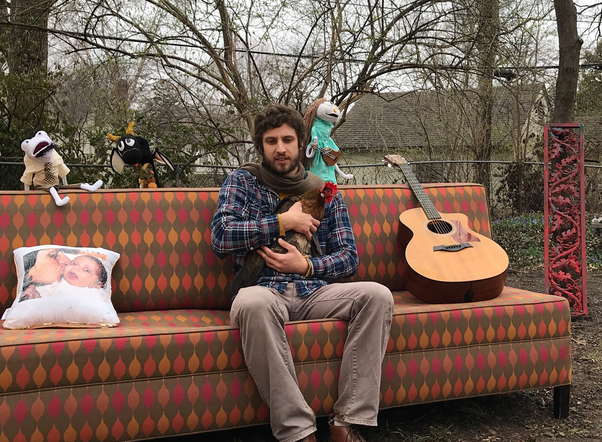 Fritz Hutchison  Jams Out With Puppets In New Video