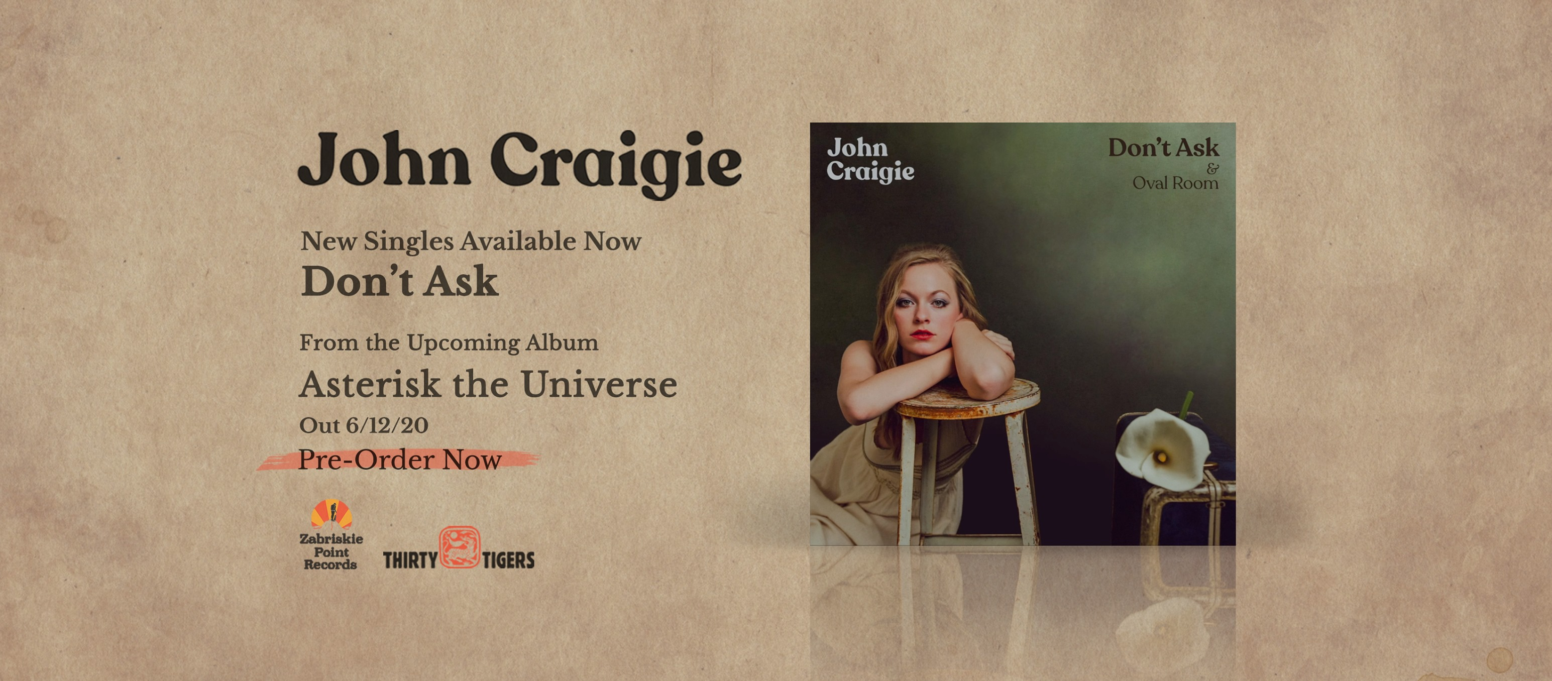 "John Craigie Shares Brooding Single ""Don't Ask"""
