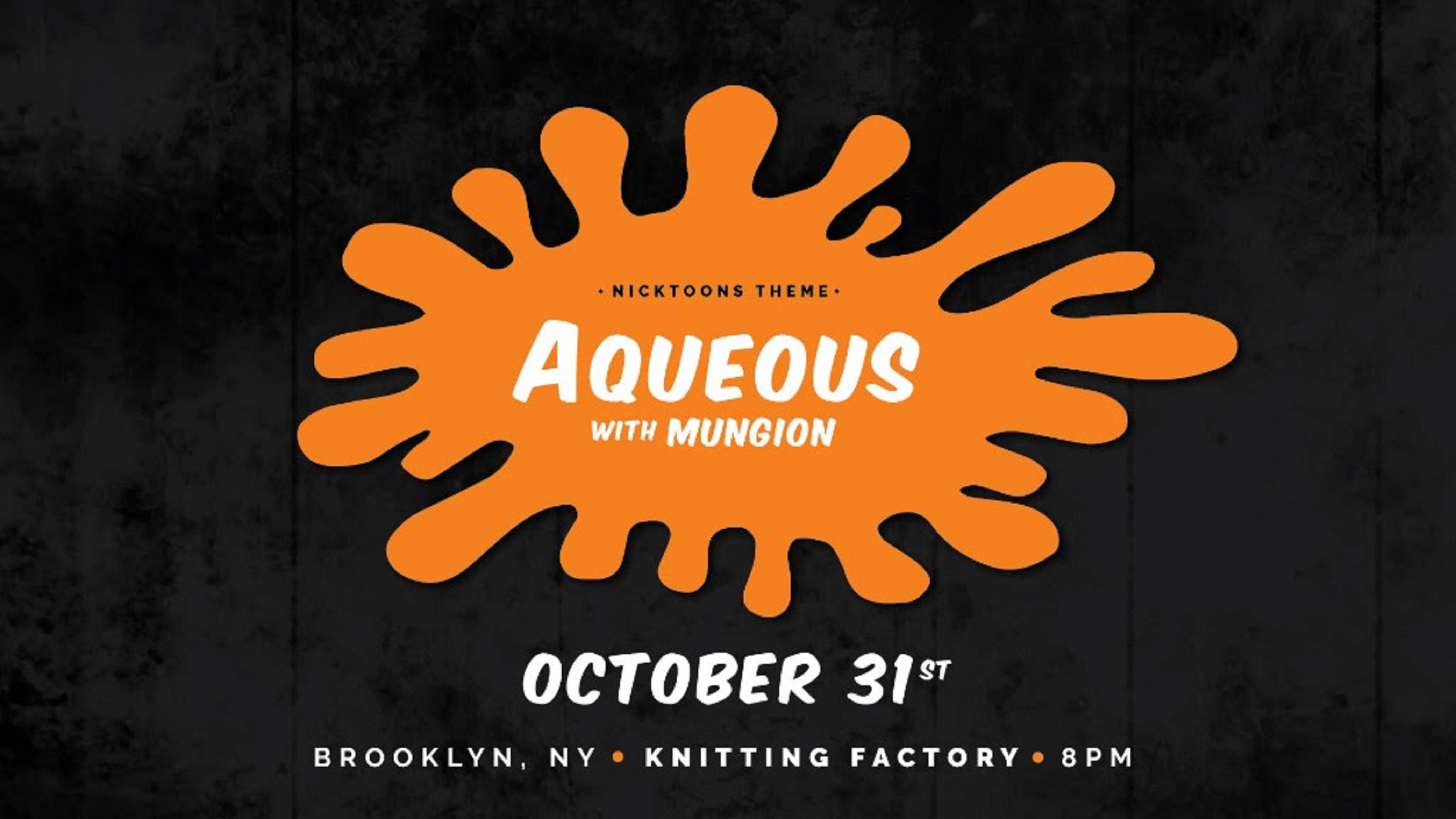 Aqueous Shares Halloween Theme For Brooklyn Throwdown With Mungion