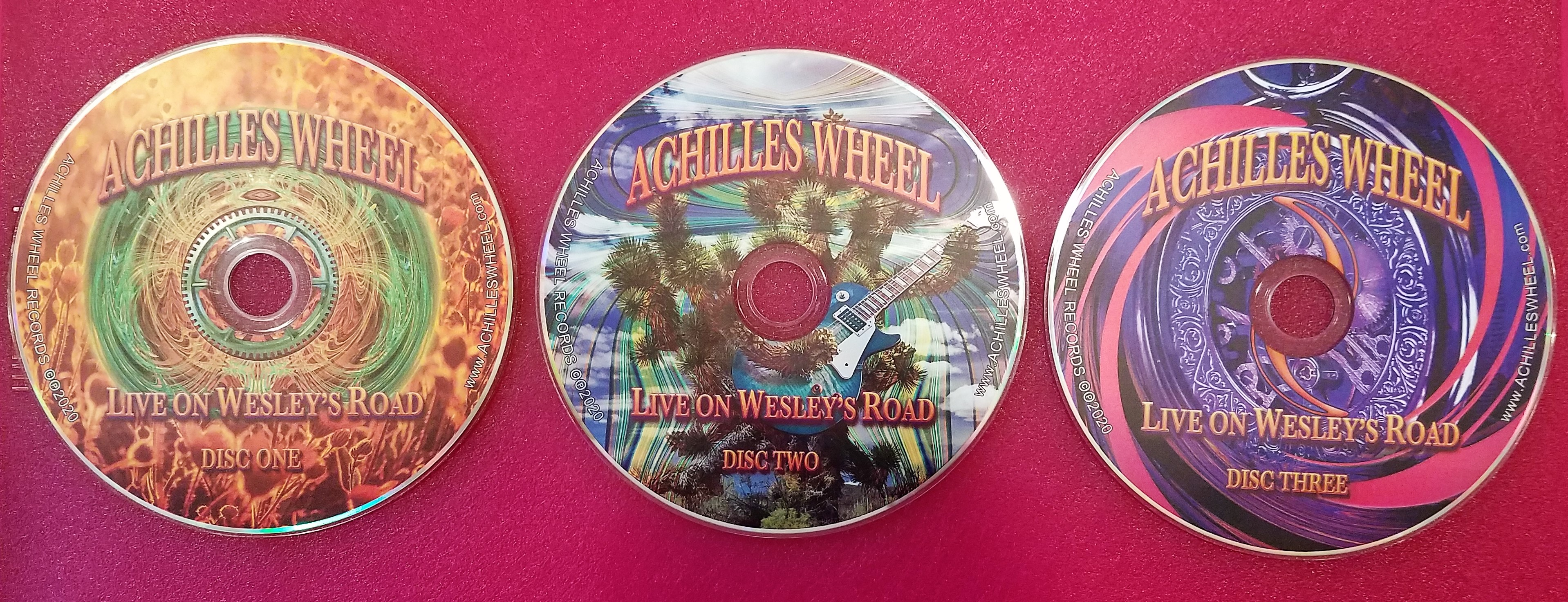 Achilles Wheel: Live on Wesley's Road | Review