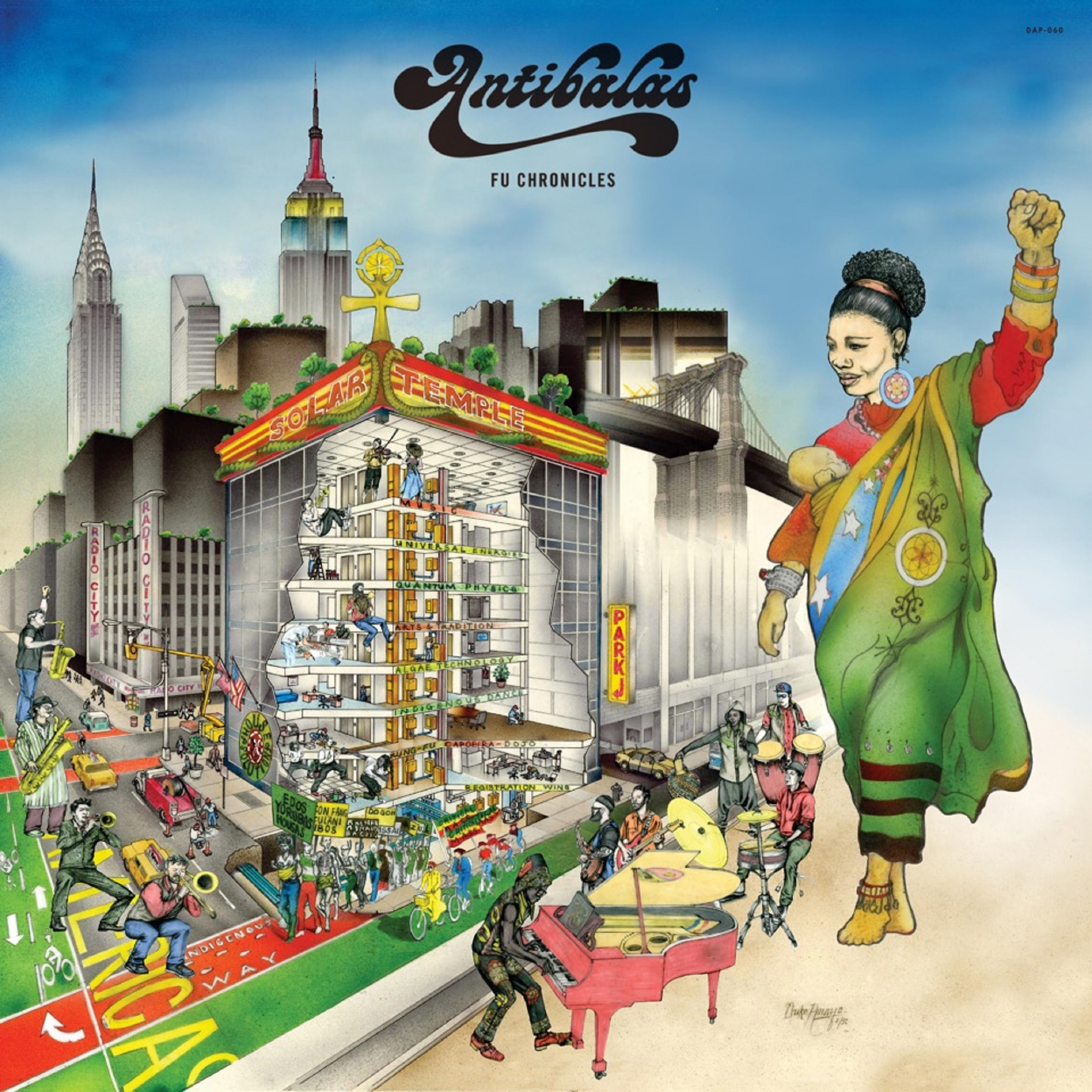 "Antibalas Releases New Album ""Fu Chronicles"""