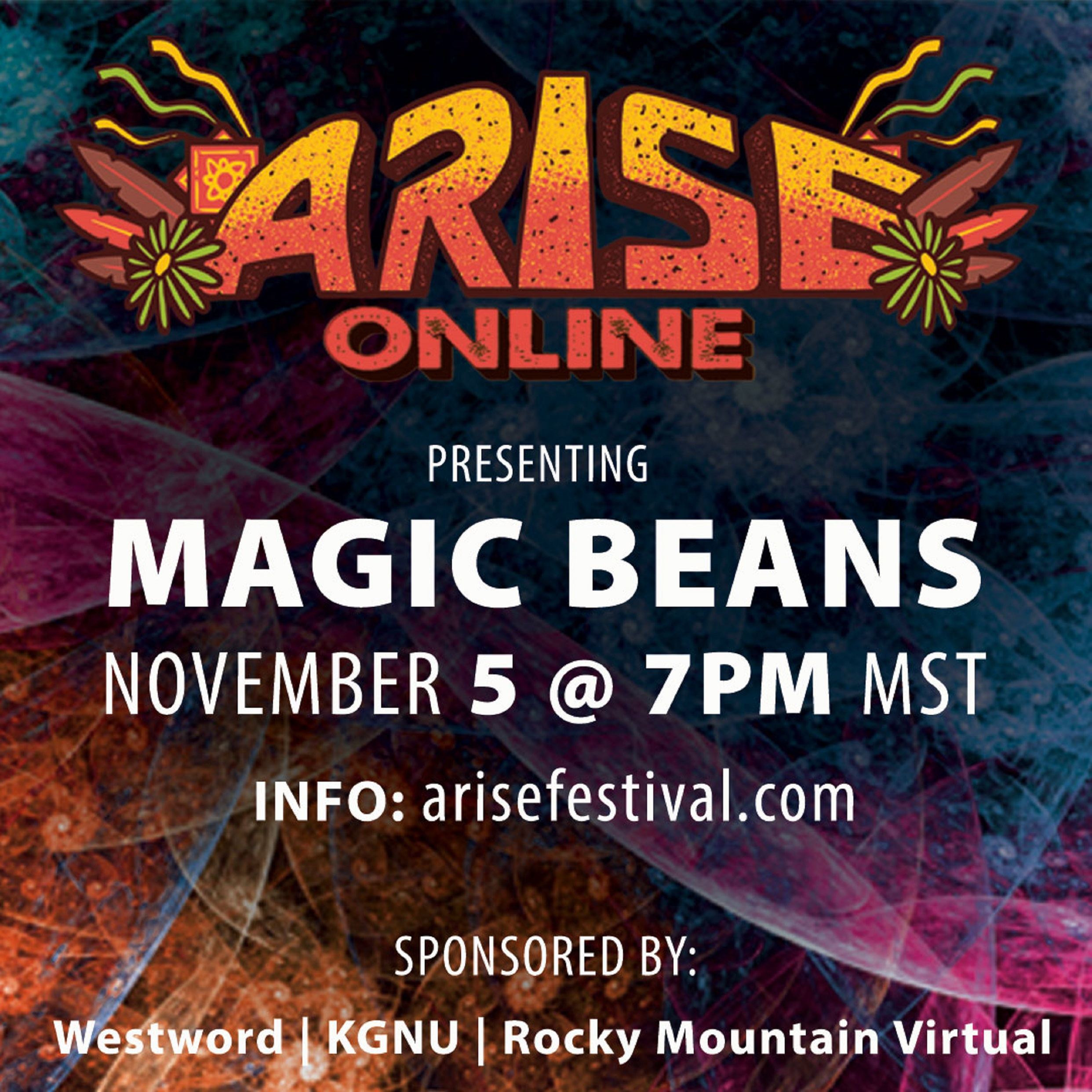 Arise Online spotlights Magic Beans  in first in-studio performance