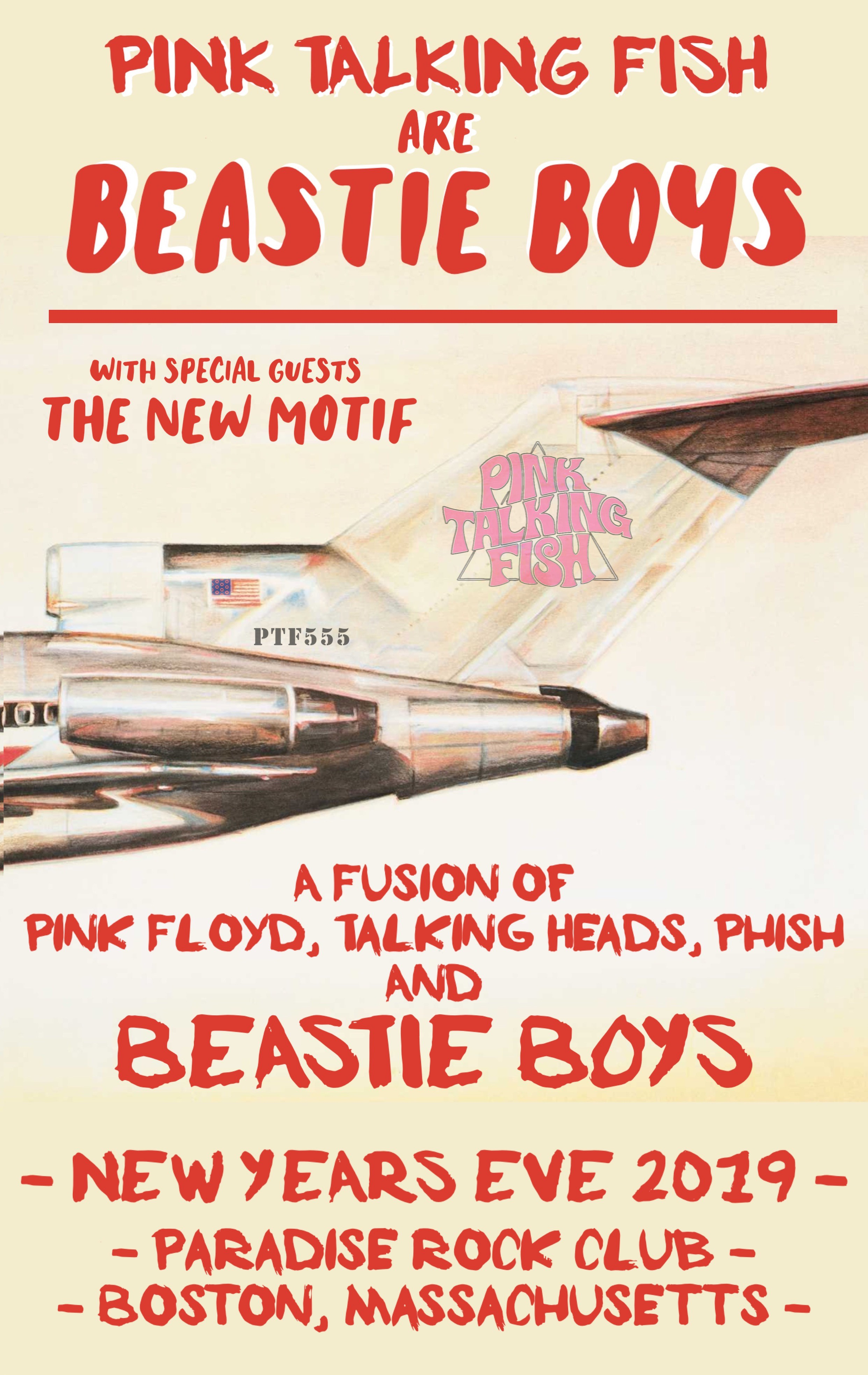 Pink Talking Fish Debuts Beastie Boys Concept as a Surprise in San Diego and Announces New Year's Eve Concept Performance