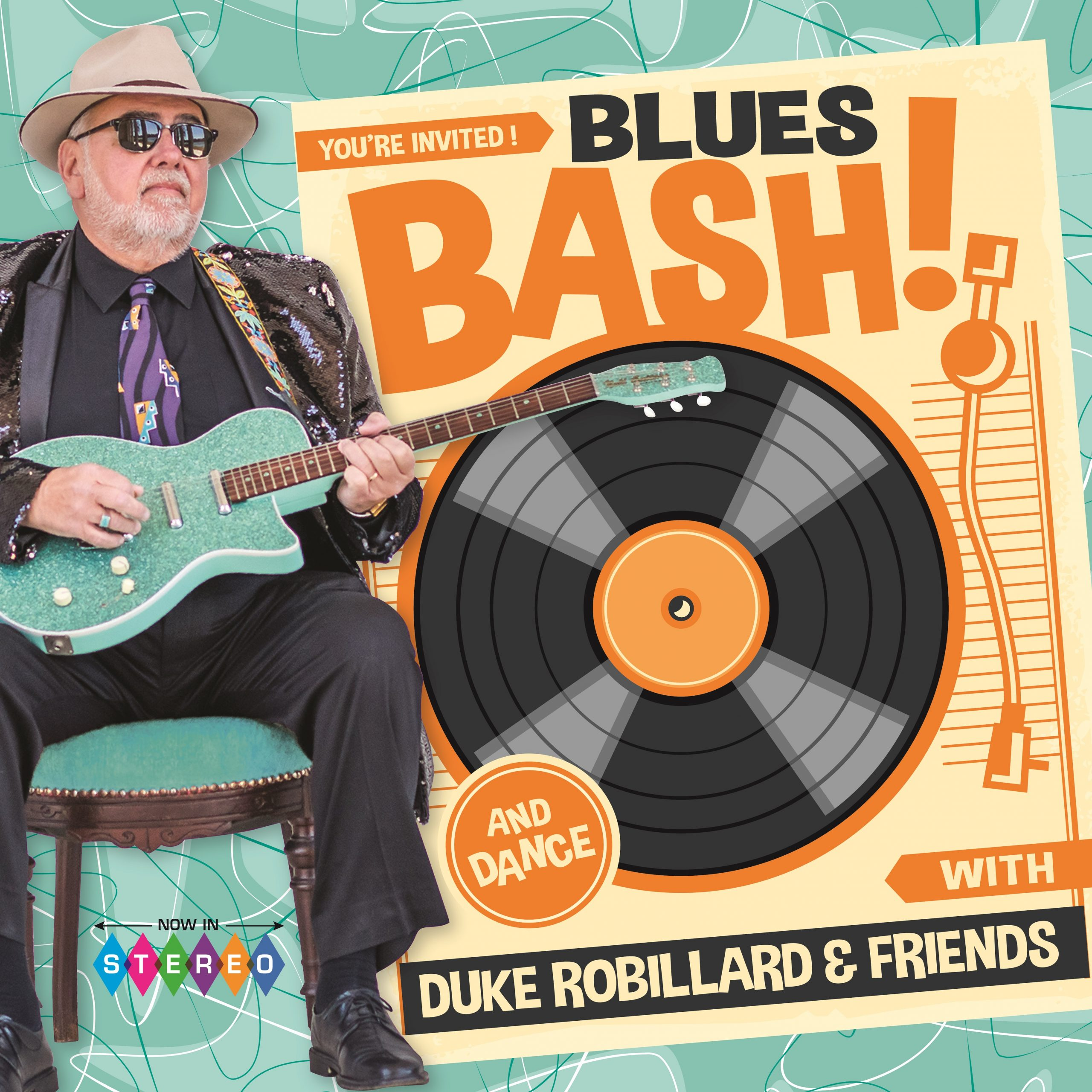 "Duke Robillard & Friends Throw a ""Blues Bash"""