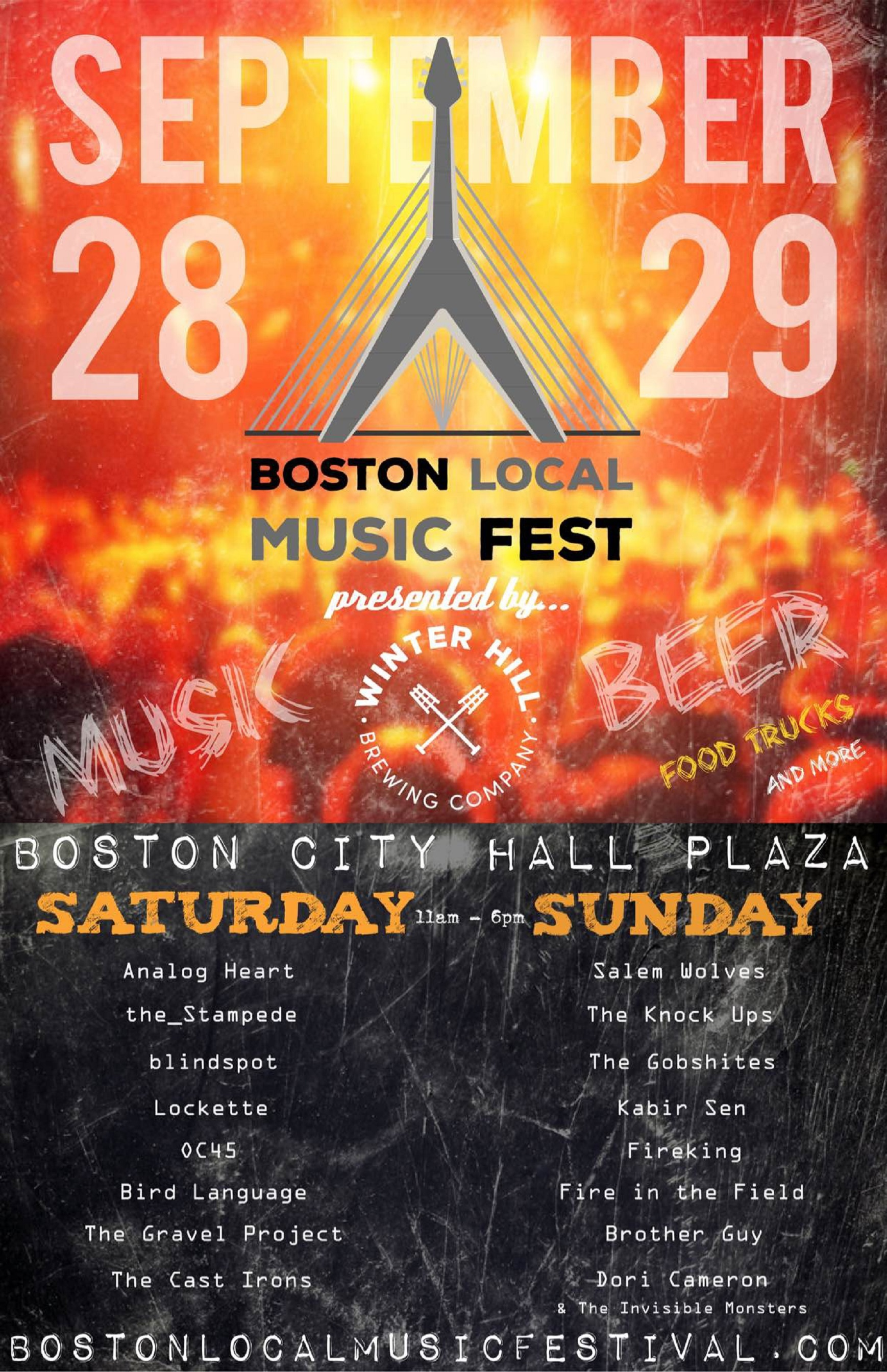 Boston Local Music Festival Takes Over City Hall Plaza
