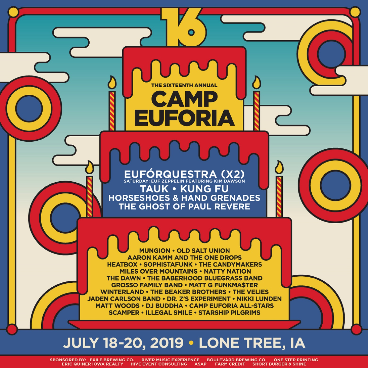 Camp Euforia Music Festival Announces Performance Schedule