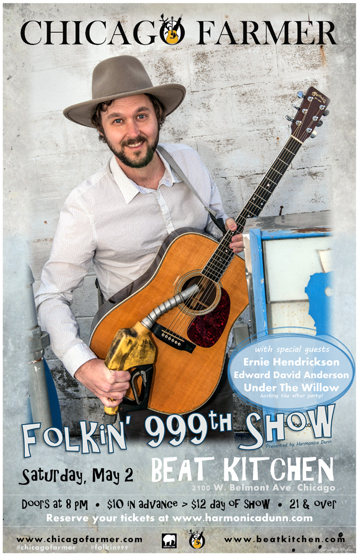 Chicago Farmer's Folkin' 999th Show to Feature New Song