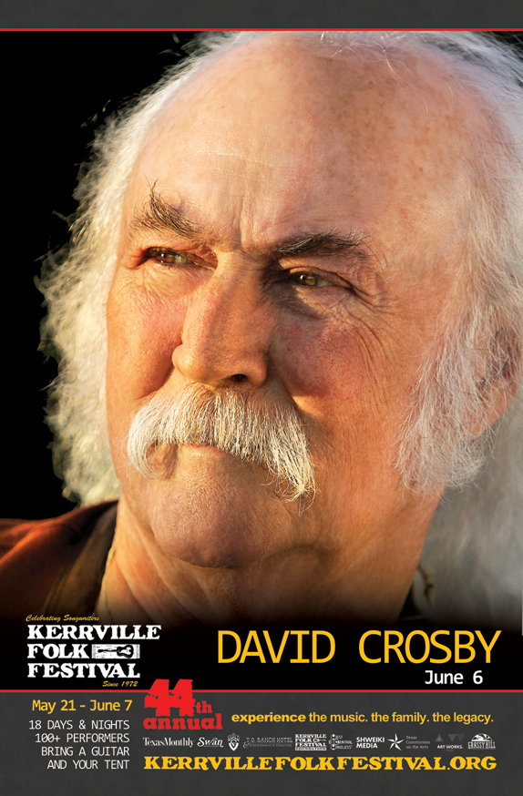 David Crosby added to the 2015 Kerrville Folk Festival