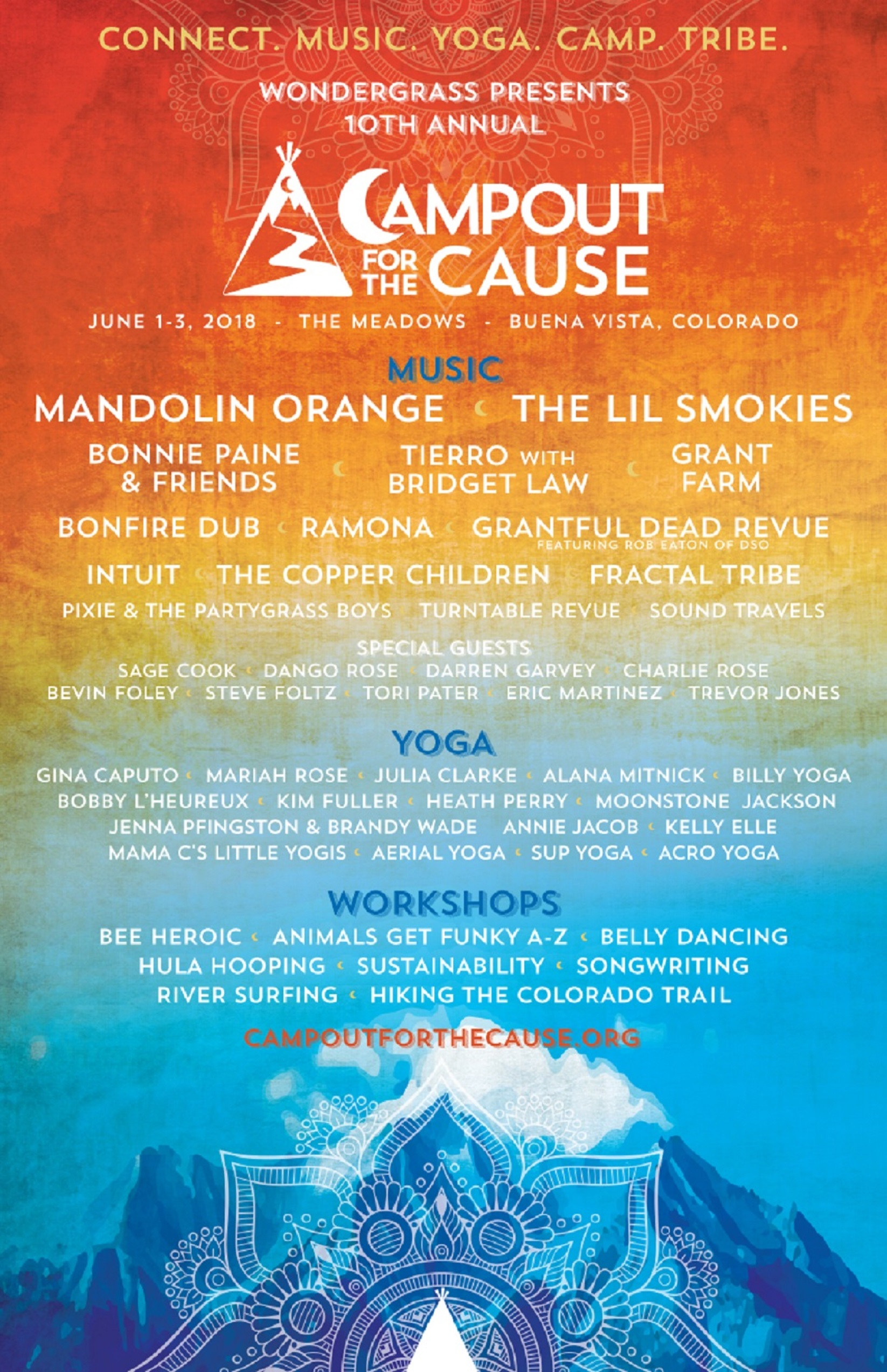 Campout for the Cause Announces 2018 Contributions, Initial 2019 Details