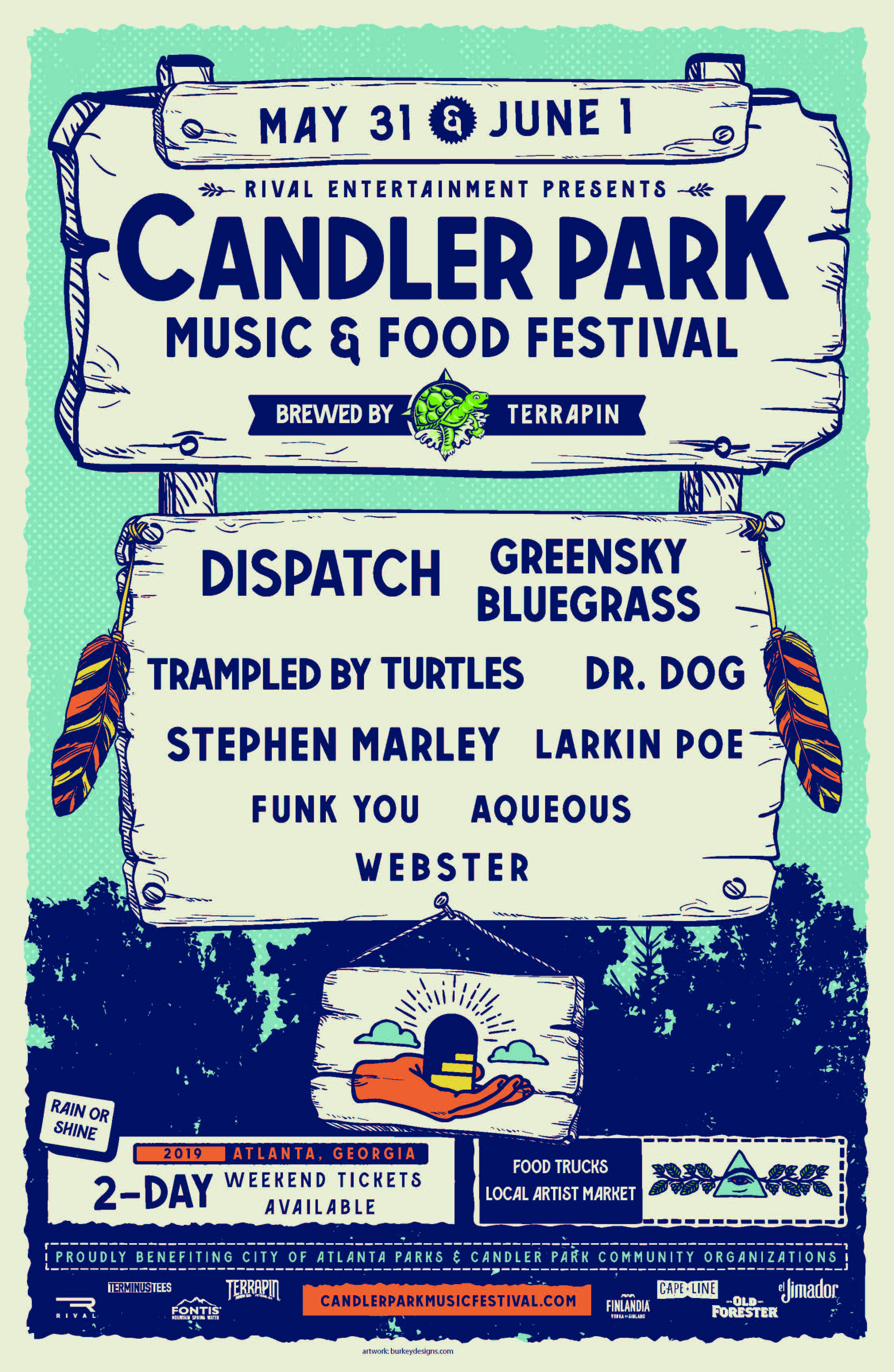2019 Candler Park Music & Food Festival Lineup Announced