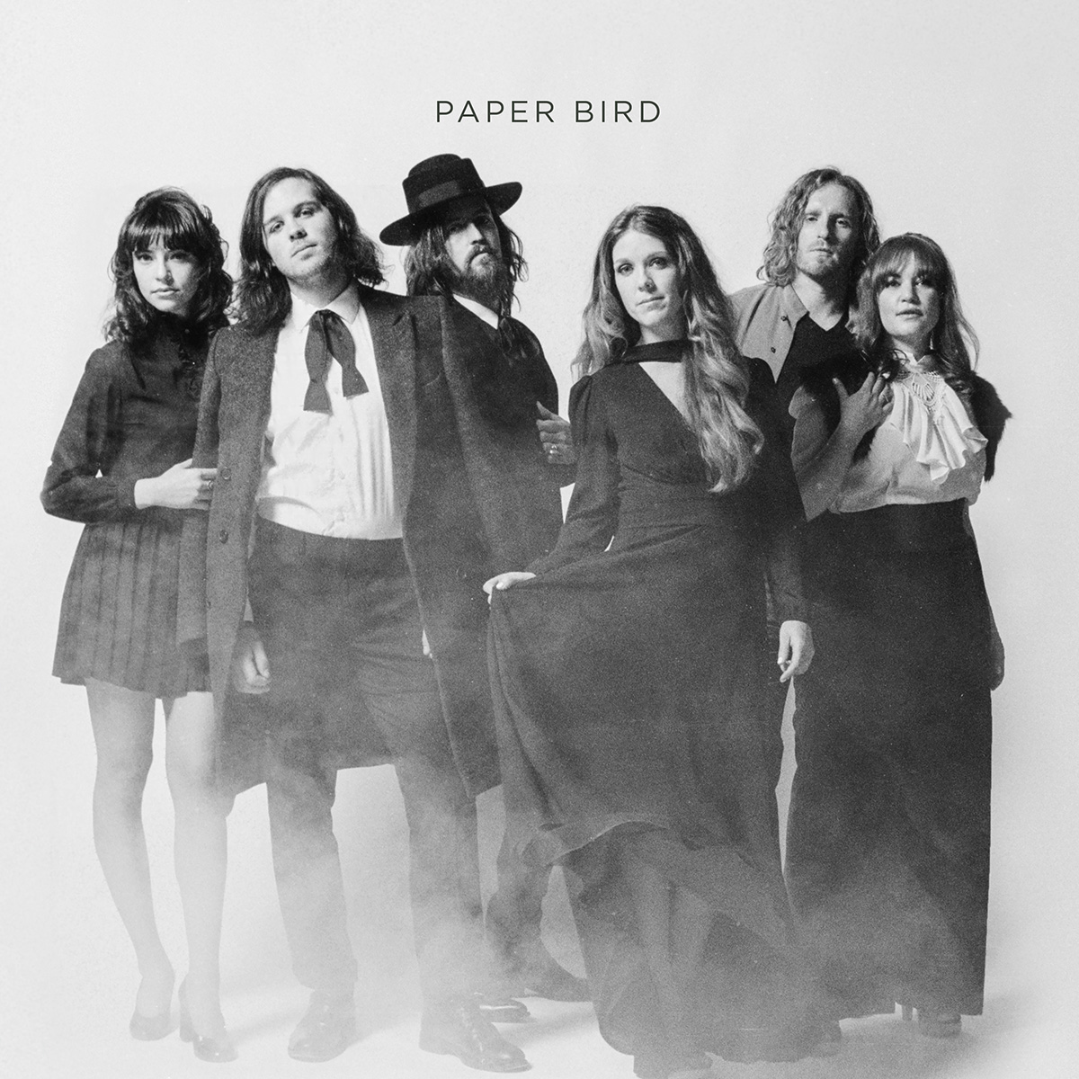 Colorado's Americana Rock Band Self-Titled Album Produced by John Oates, PAPER BIRD