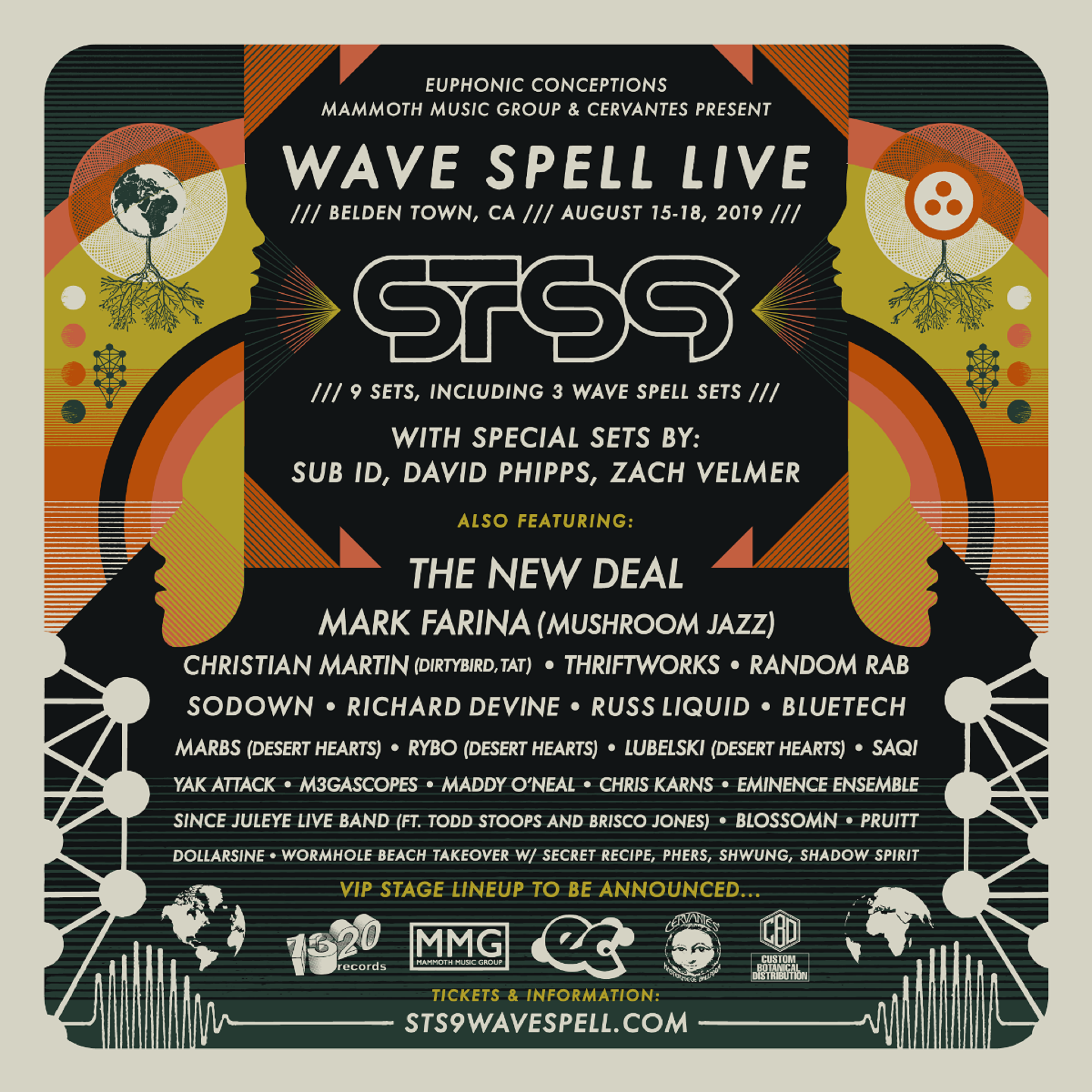 STS9 Wave Spell Live On Sale Now