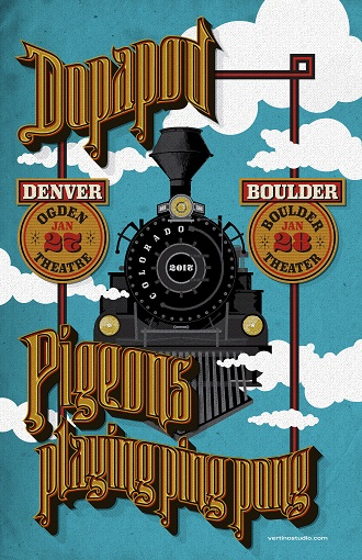 Dopapod and Pigeons Playing Ping Pong Announce 2-Night Run In Colorado