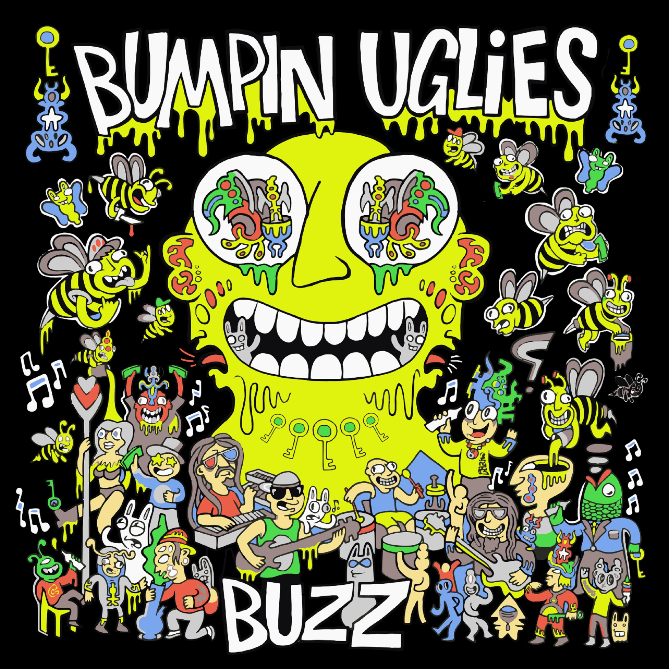 BUMPIN UGLIES ANNOUNCE EP BUZZ IN PARTNERSHIP WITH INEFFABLE MUSIC GROUP