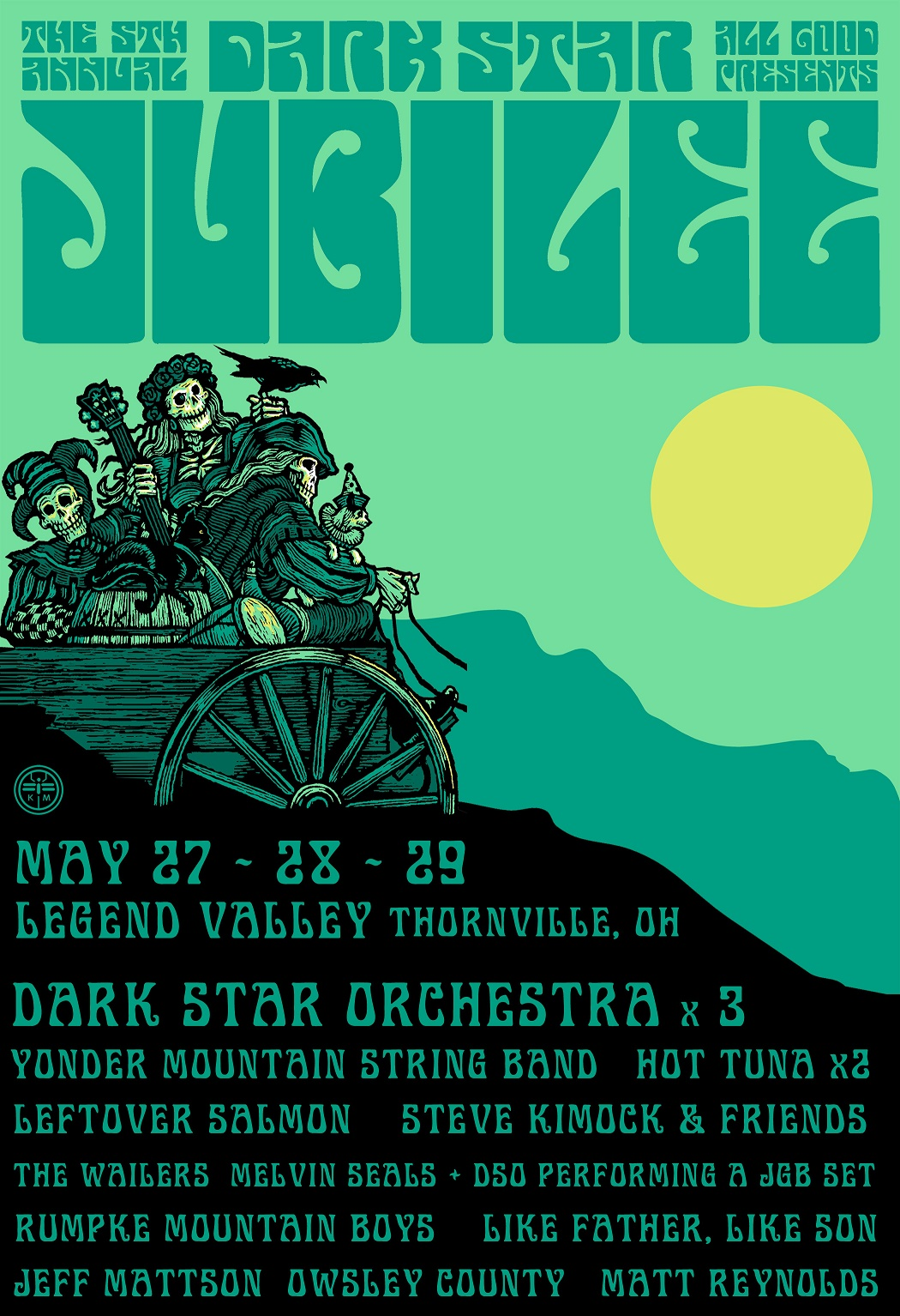 Dark Star Jubilee 2016 Lineup Announced