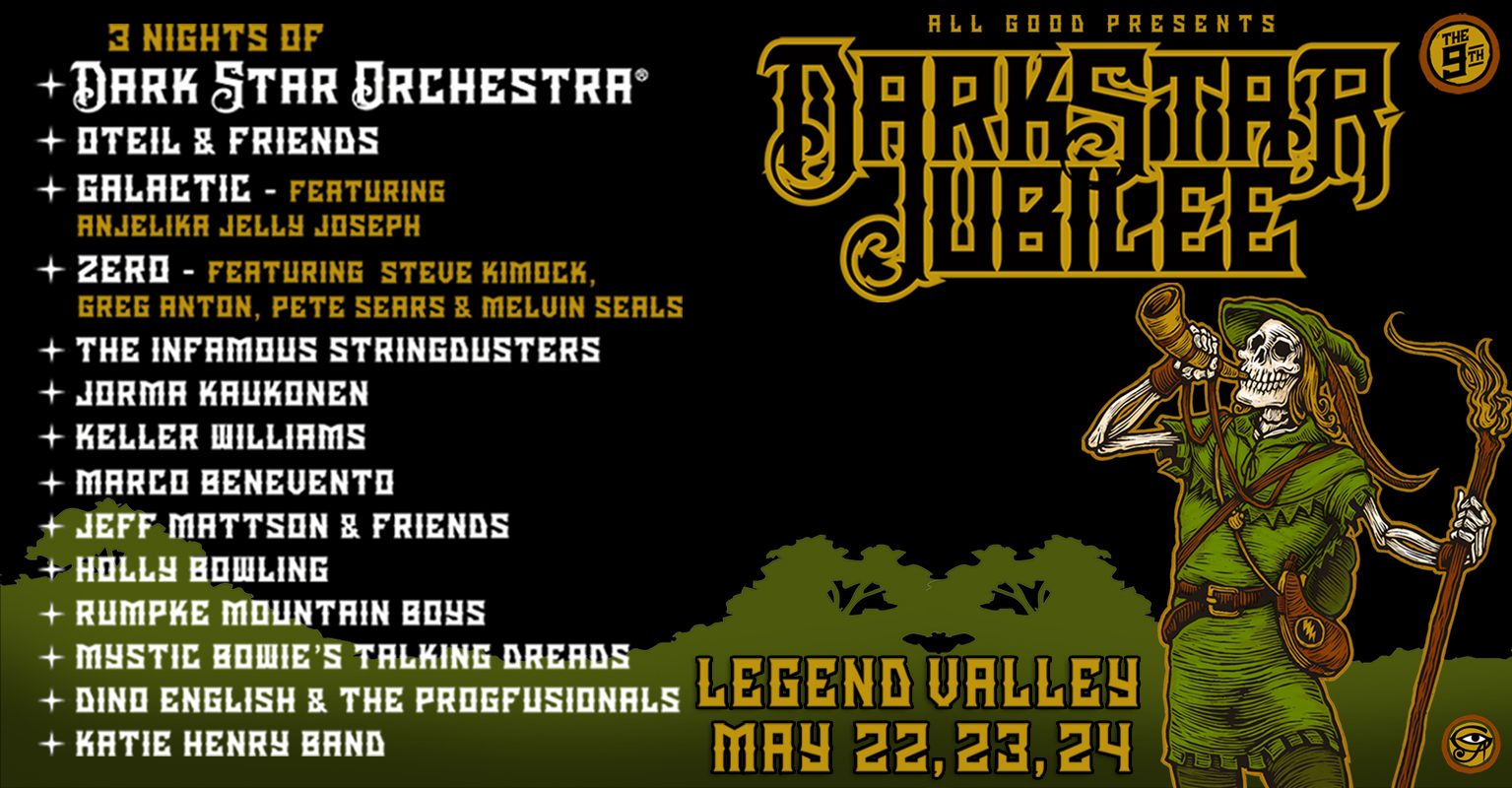 Dark Star Jubilee 2020 Lineup Announcement