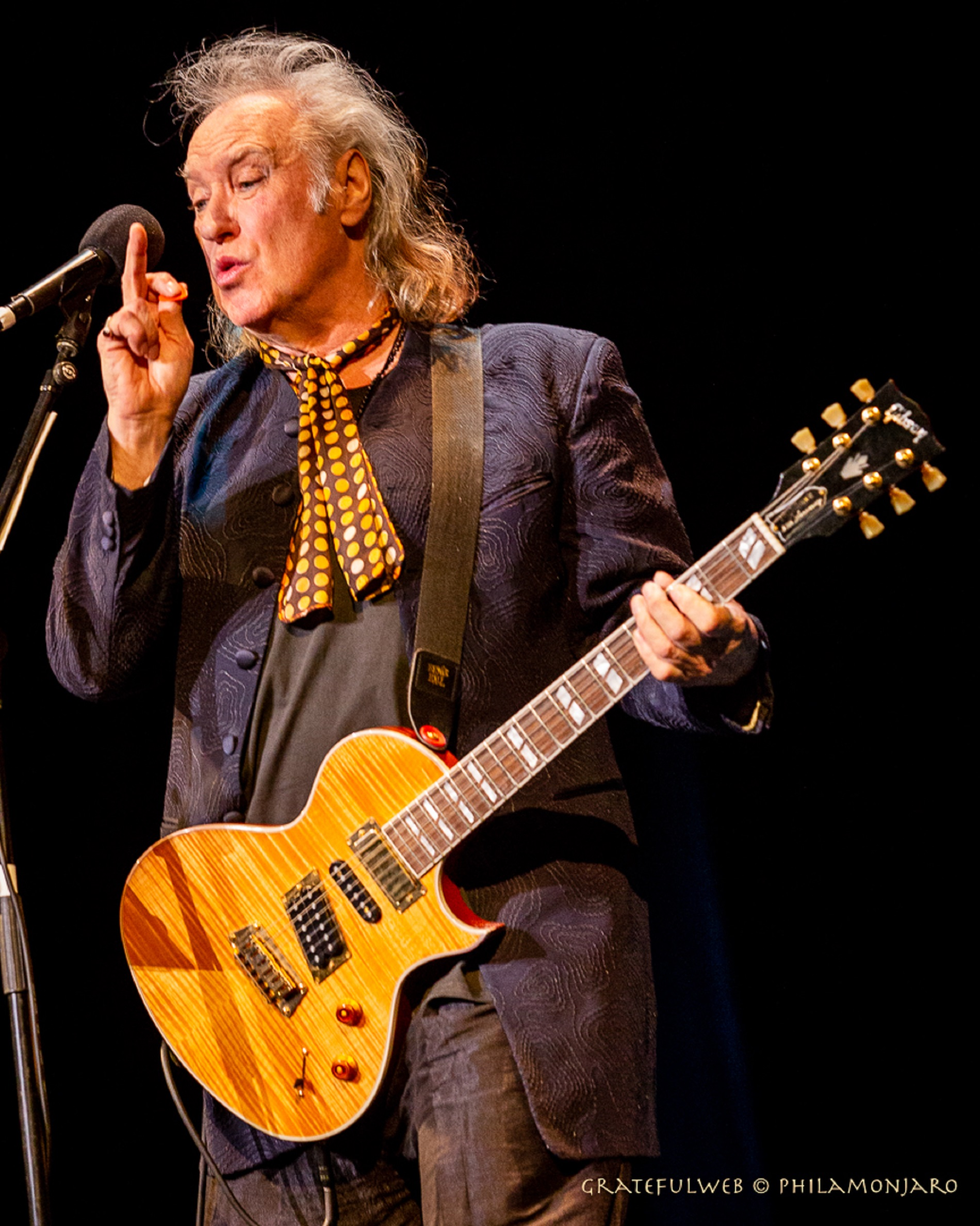 Dave Davies of The Kinks live at Genesse Theatre